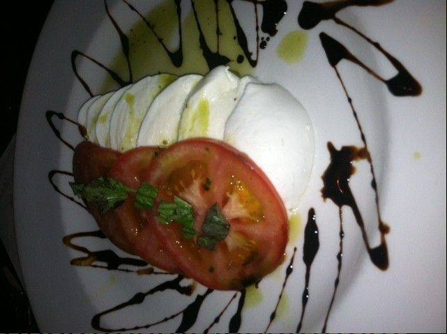 Bapi Italian Ristorante's fresh bufala mozzarella appetizer is available for a limited time.
