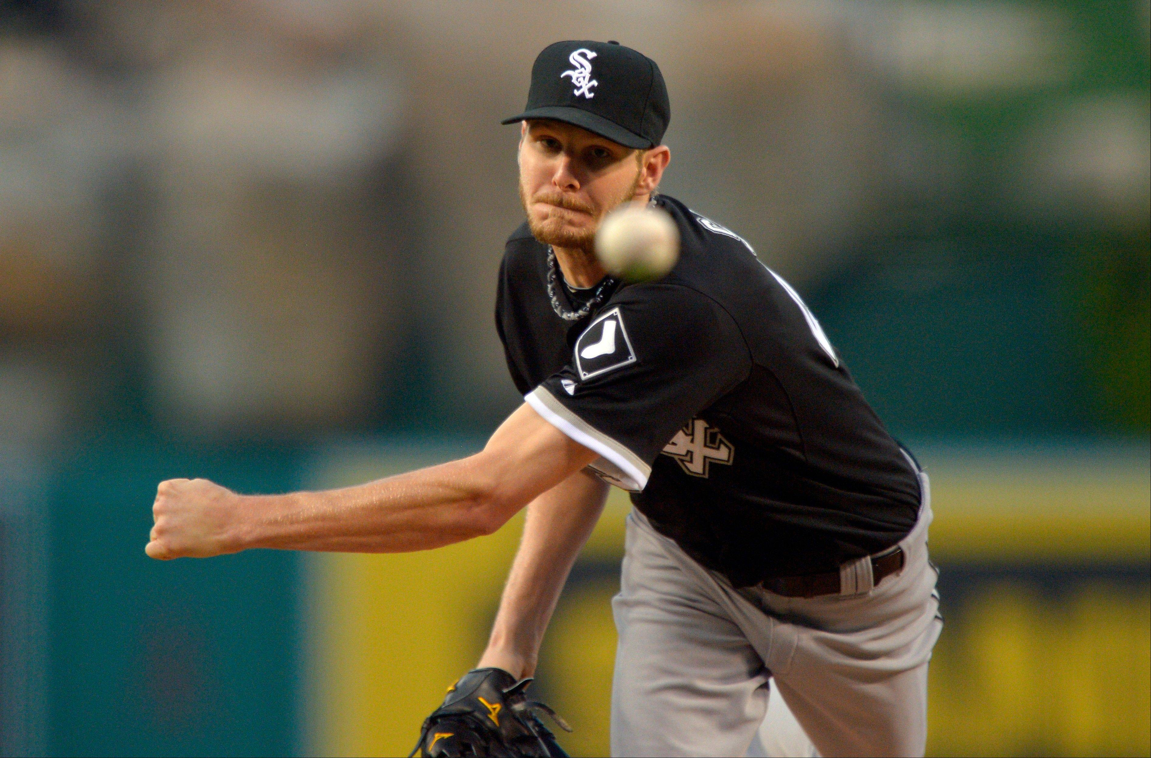 White Sox starter Chris Sale continued his mastery over the Angels, working 7 shutout innings while allowing 3 hits Friday night.