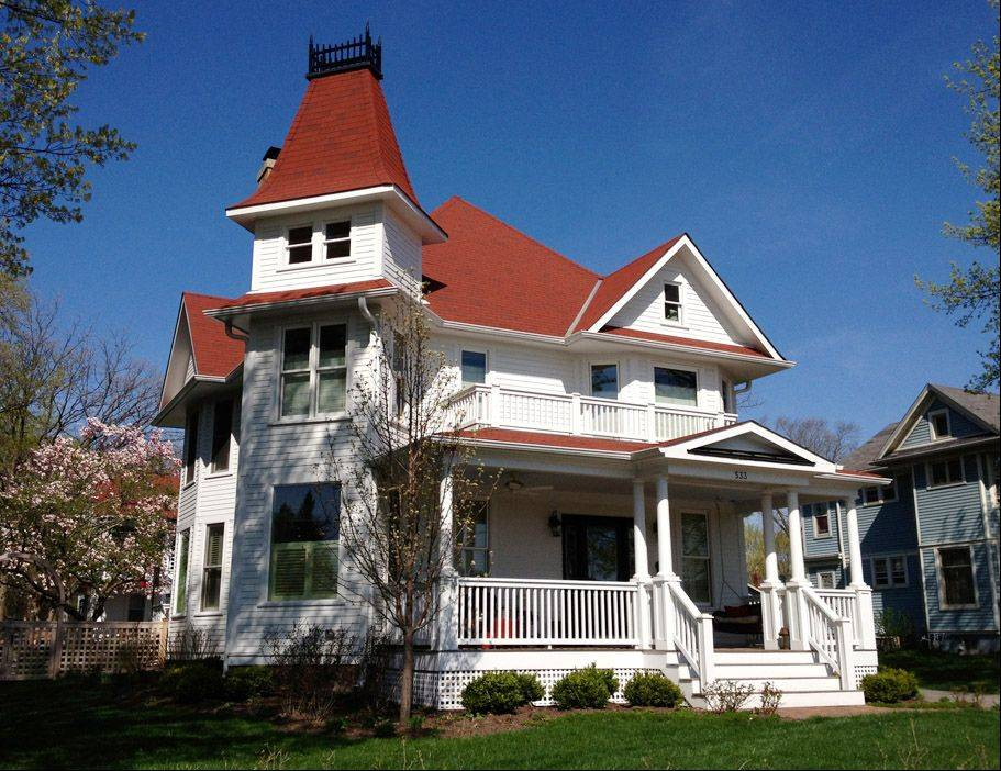 The home at 533 Brainerd Ave. is part of the Main Street Libertyville Design Committee's 10th annual Historic Home Tour on June 1.