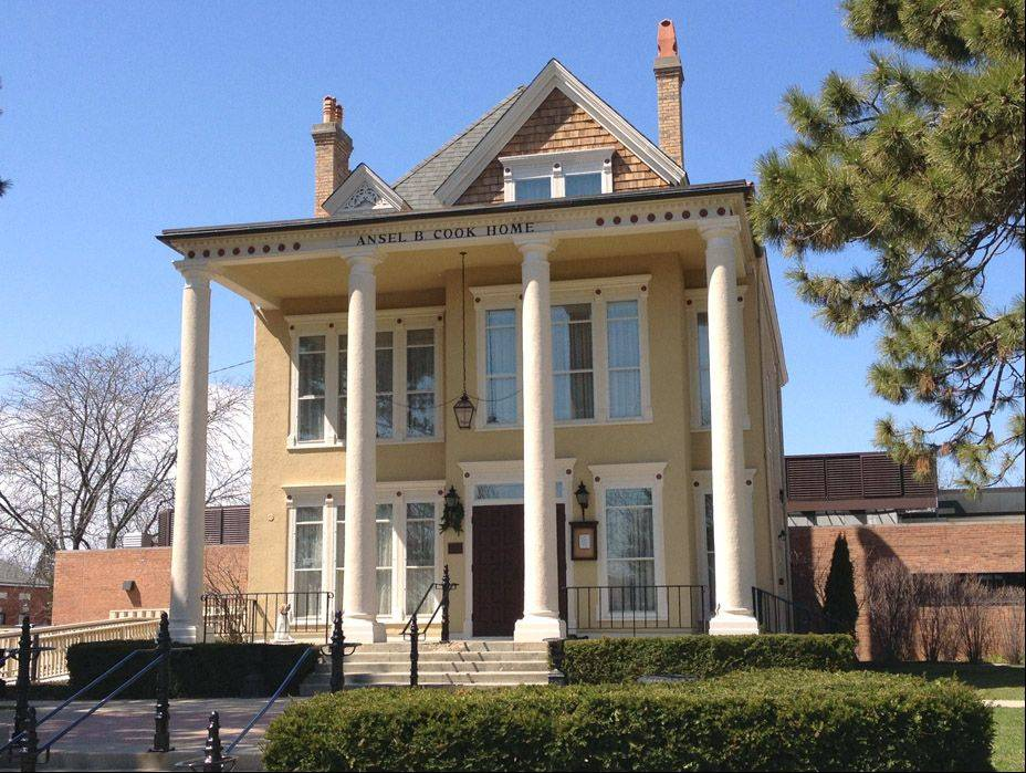 The Main Street Libertyville Design Committee will present the 10th annual Historic Home Tour from 10 a.m. to 2 p.m. Saturday, June 1. The Ansel B. Cook Home is one stop on the walk.
