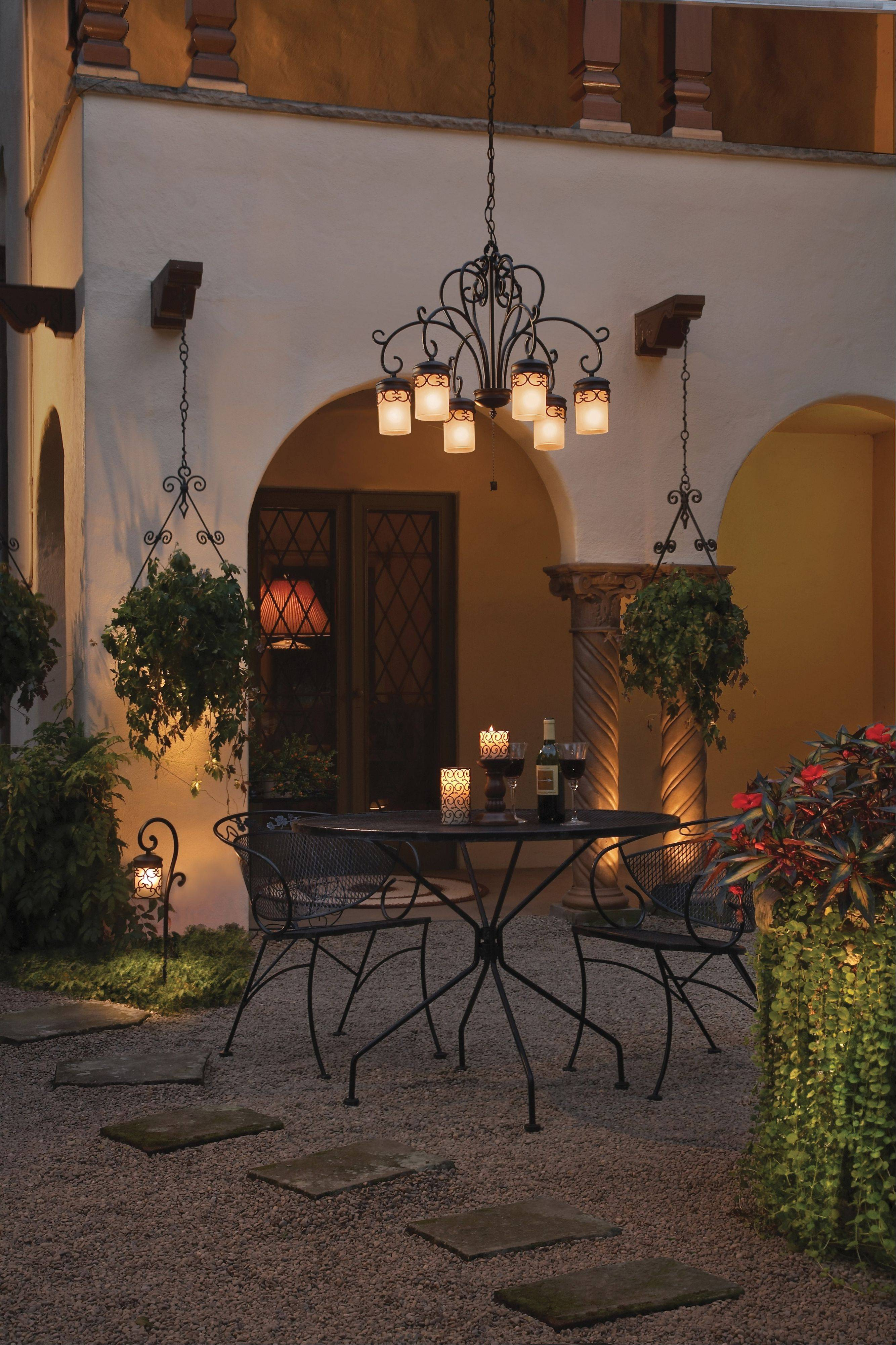 Lighting designers help homeowners rethink what they can do with their yards.