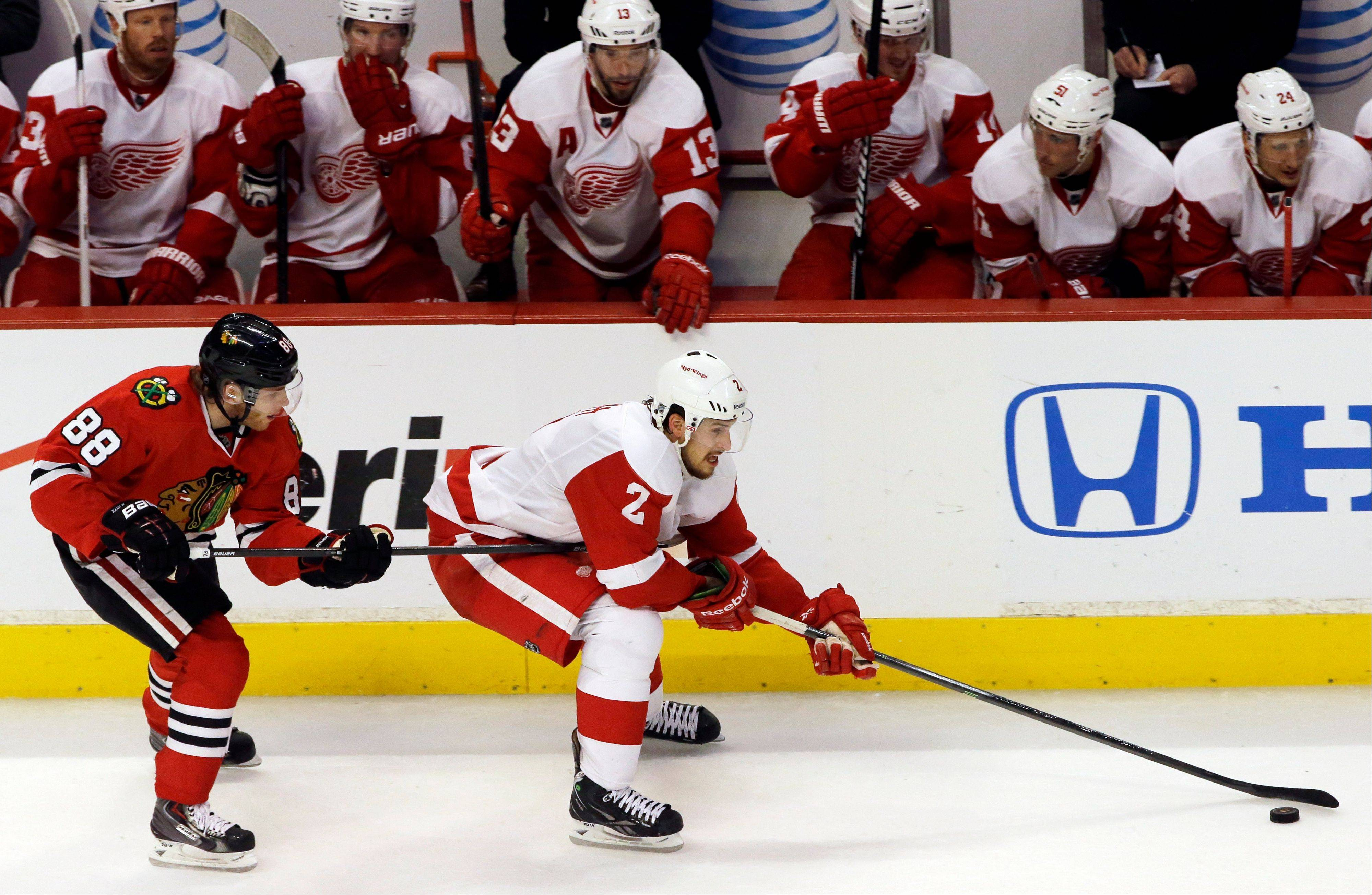 Smith, Red Wings get some redemption