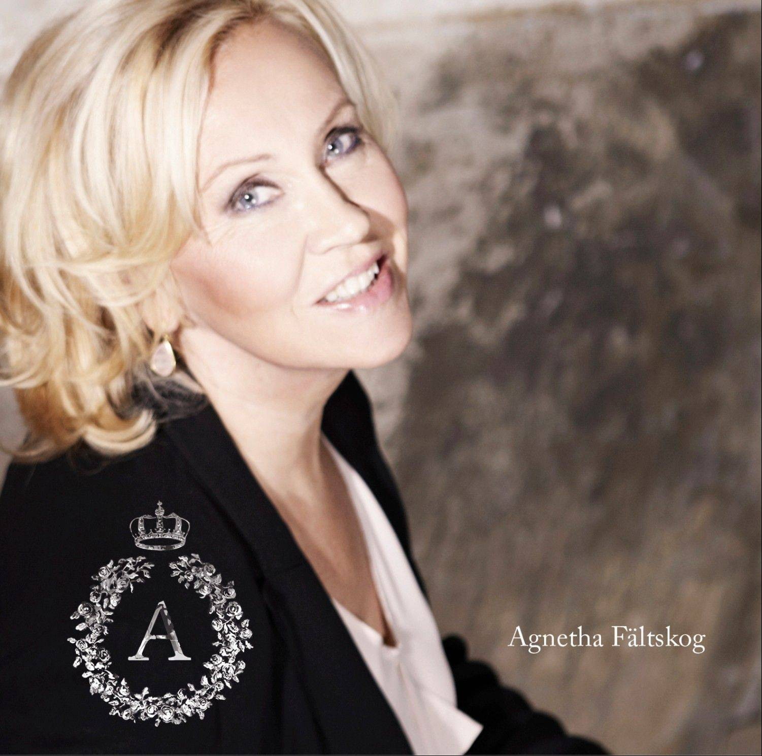 "Former ABBA member Agnetha Faltskog released her new album, ""A,"" on Tuesday."