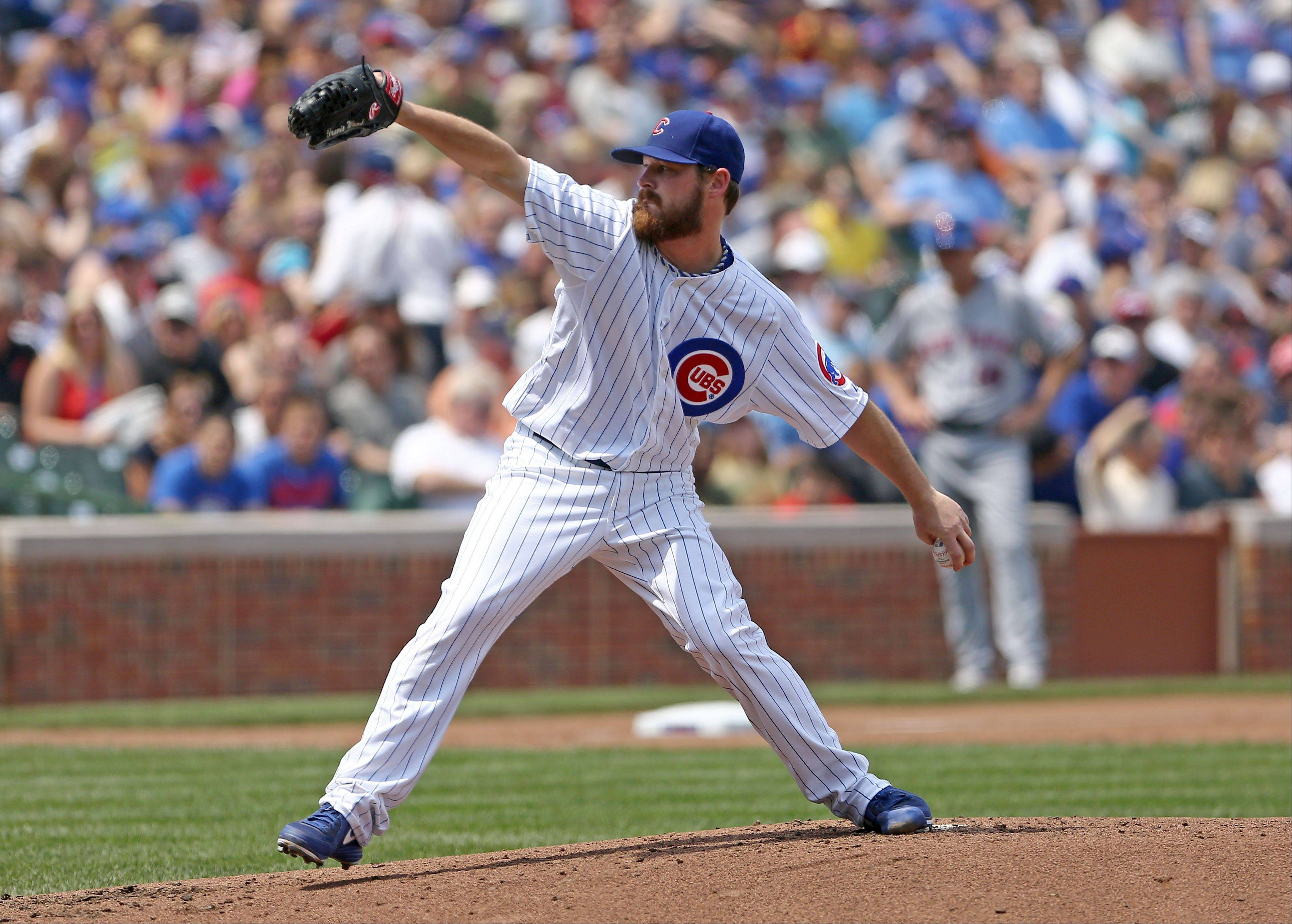 Cubs' Wood rues pitch that got away