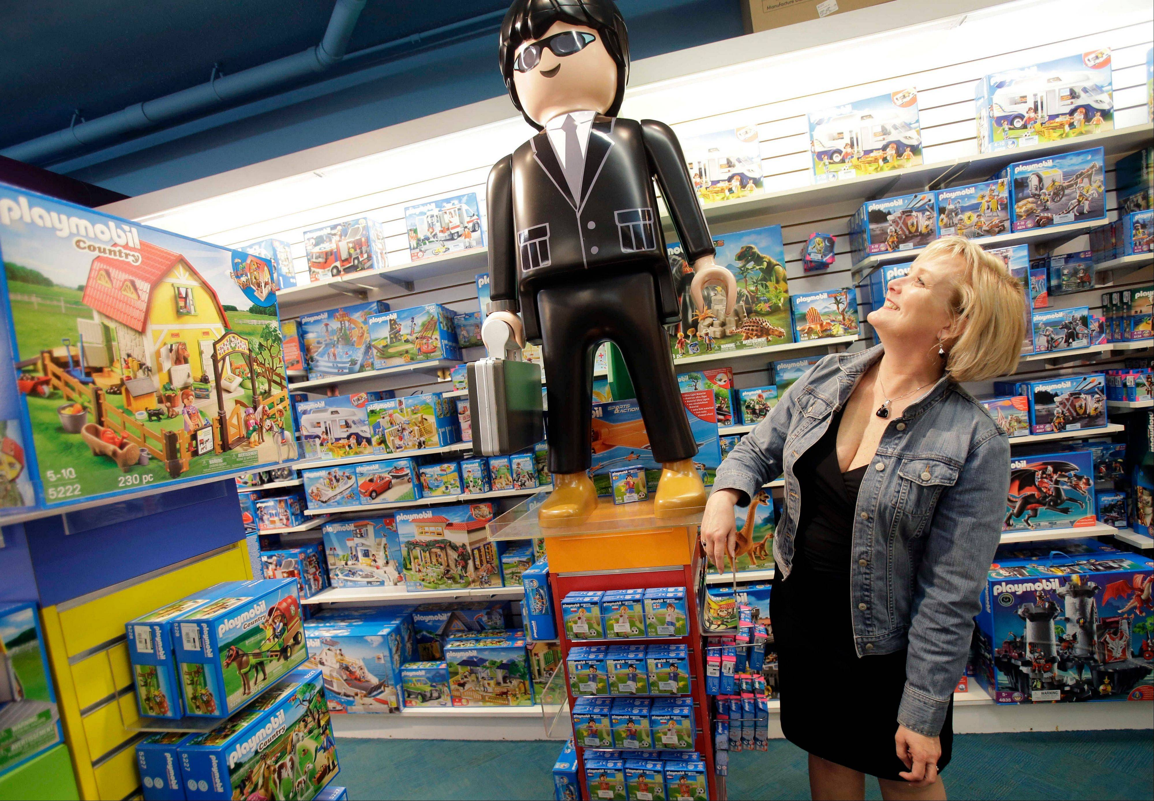 Roberta Bonoff, president and CEO of Creative Kidstuff, a toy store chain, at the store in St. Paul, Minn. The toy retailer based in Minneapolis just expanded by buying a 26-year-old online and catalog toy retailer, Sensational Beginnings. Bonoff said the owner was tired and ready to sell.