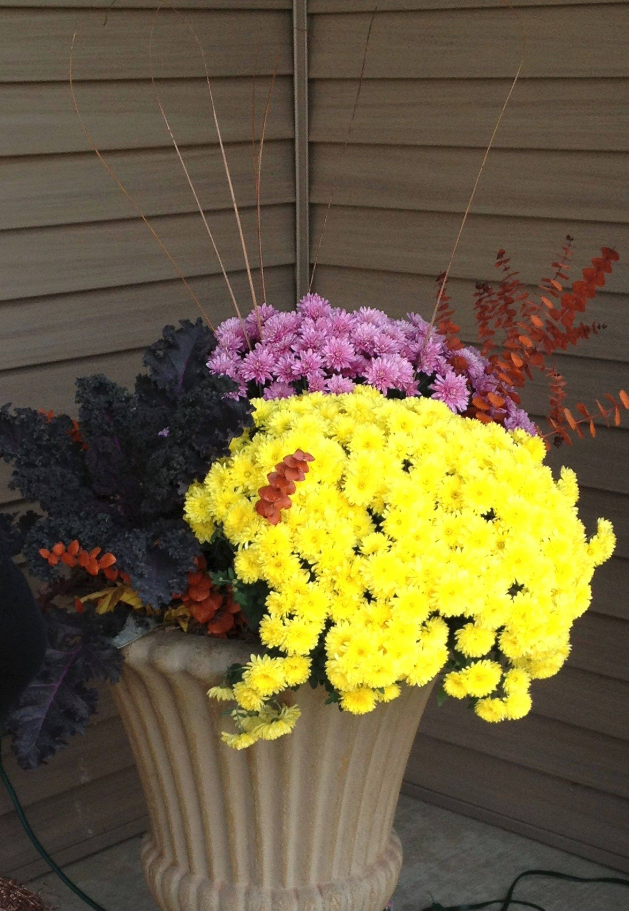Lurvey Landscape Supply and Garden Center recommends adding decorative containers, which are available in many shapes, materials and colors.