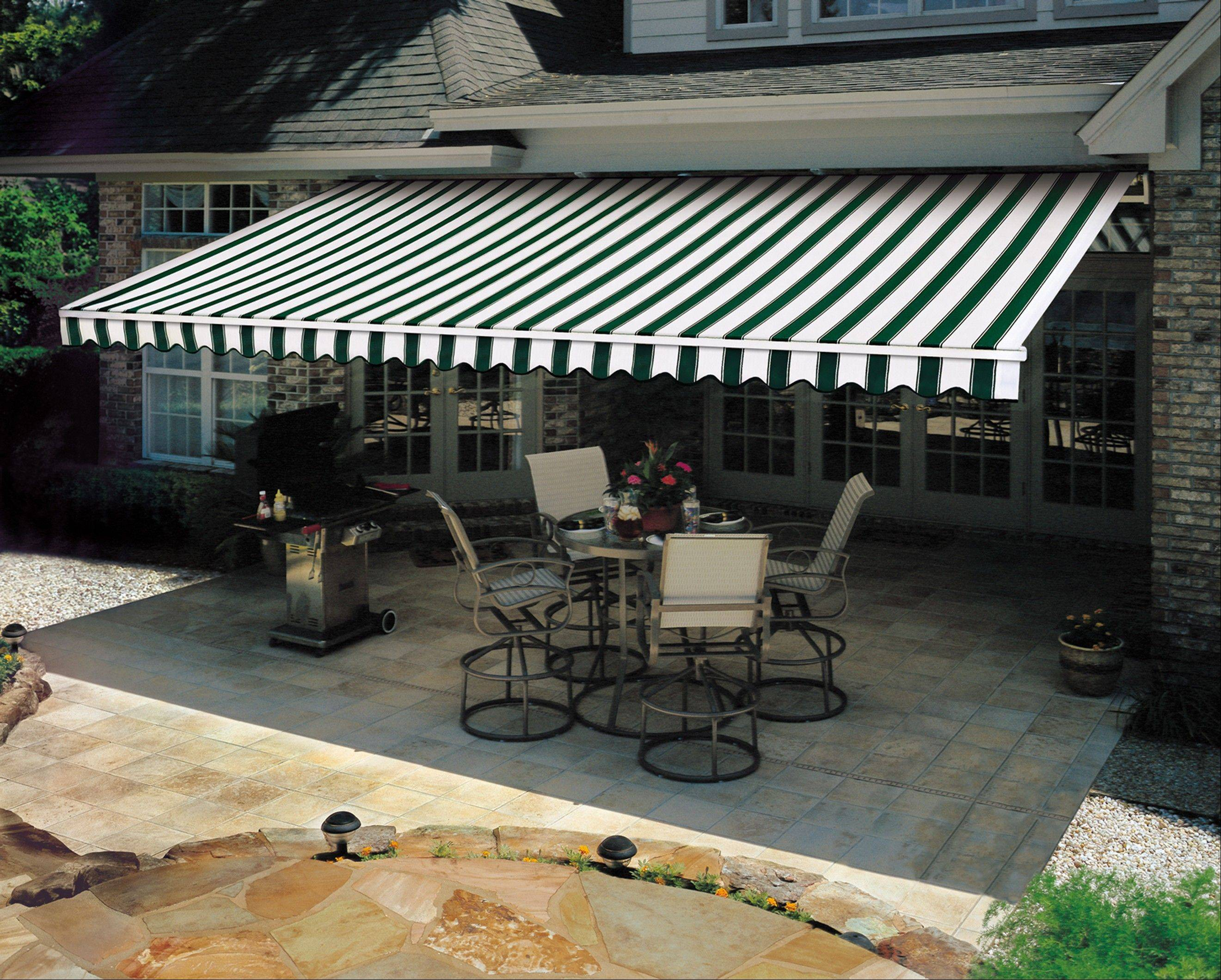 A retractable awning by Sunesta will give you shade when you need it and sun when you want it.