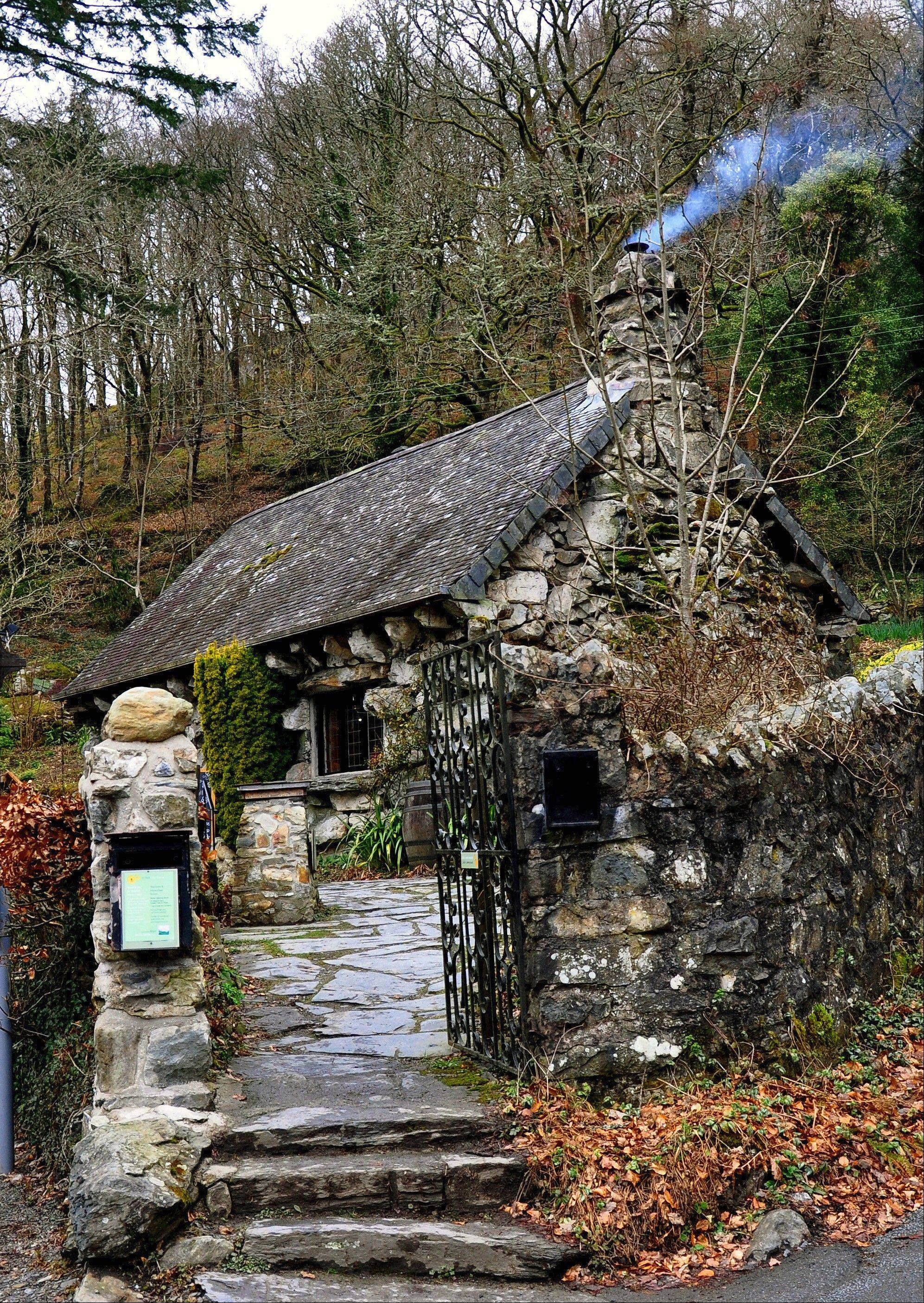The Ugly House was headquarters of the Snowdonia Society until it opened as a tea room last year. The ancient stone cottage sits along the A5, the main route into Snowdonia National Park.