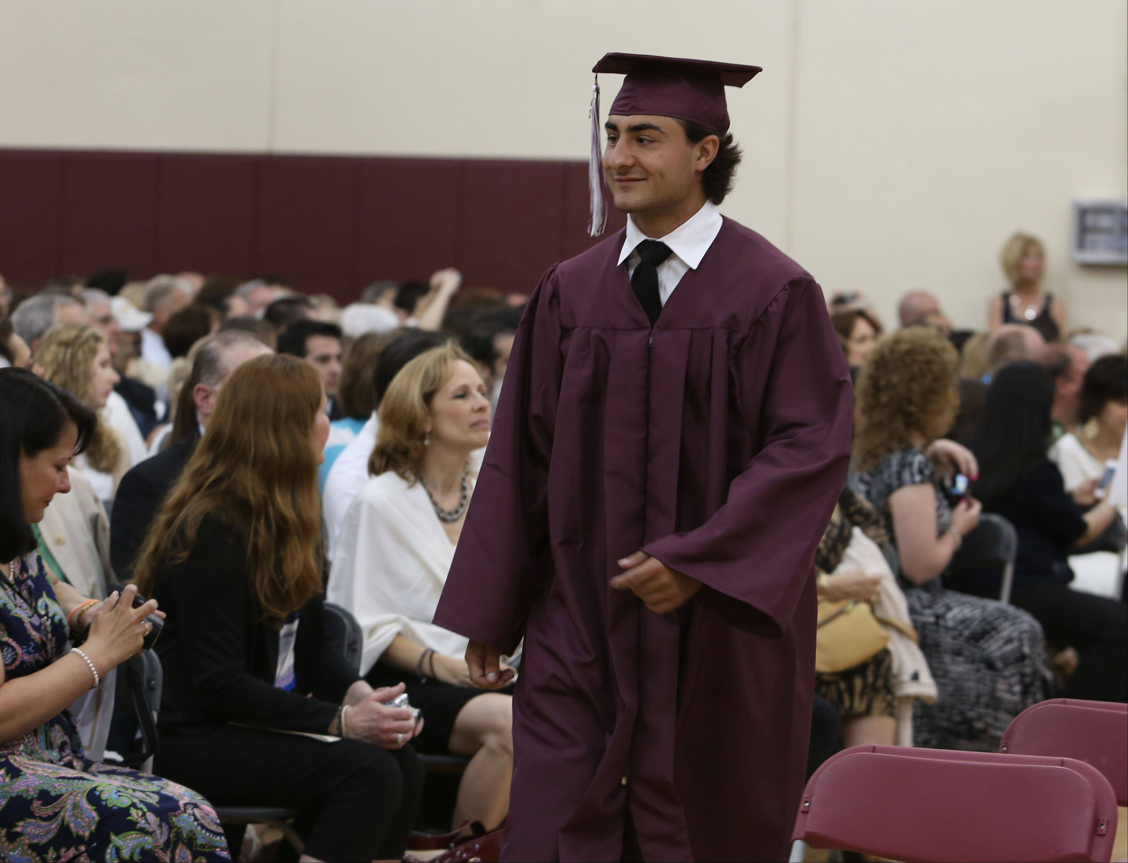 Images from the Montini Catholic High School graduation on Sunday, May 19 in Lombard.