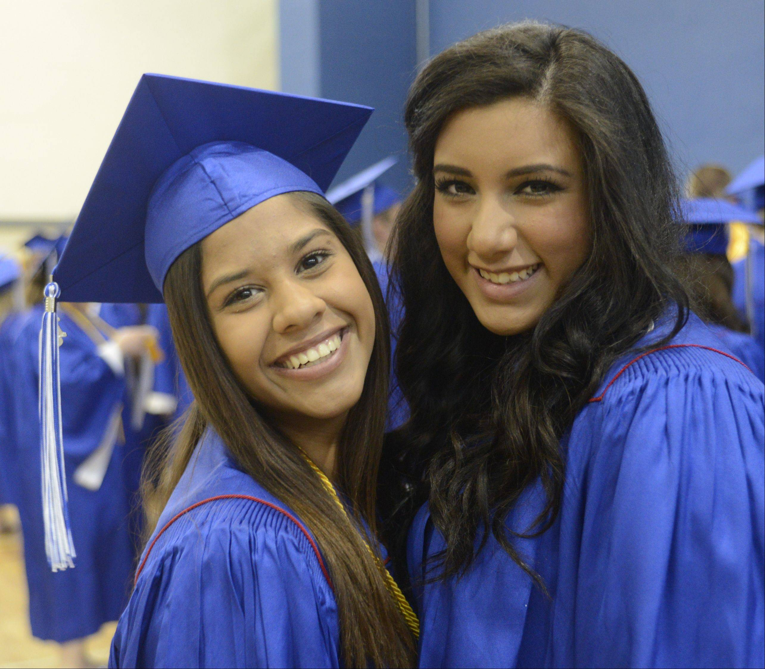 Images from the Lakes Community High School graduation on Sunday, May 19 in Lake Villa.