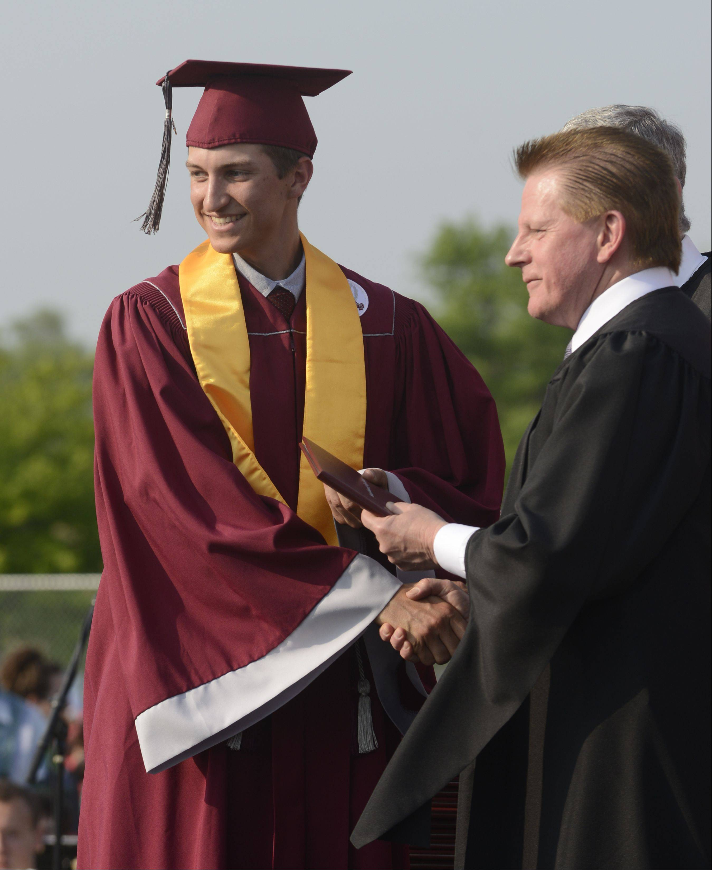 Images from the Antioch High school graduation on Sunday, May 19 in Antioch.