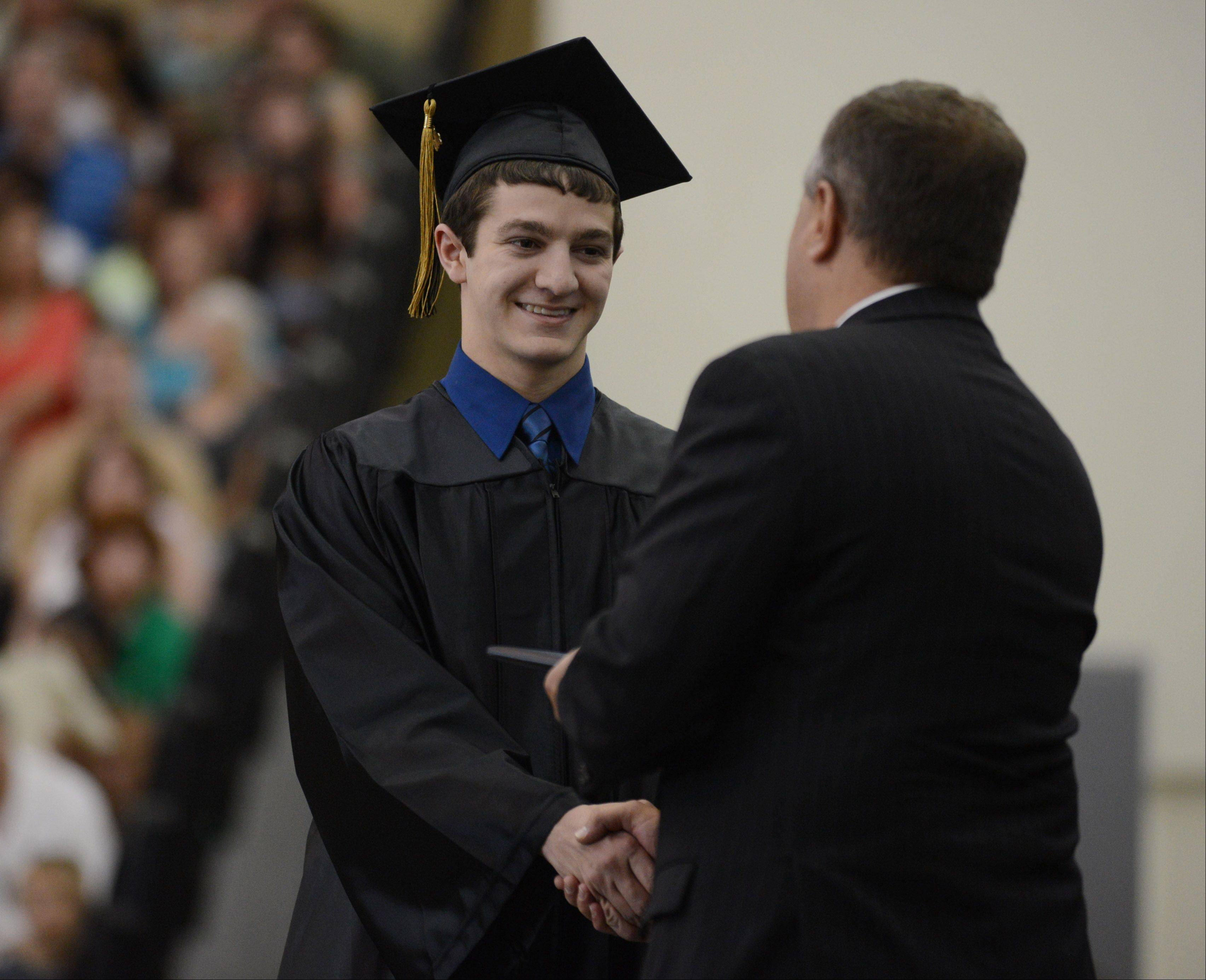 Images from the Grayslake North High School graduation on Sunday, May 19 in Grayslake.