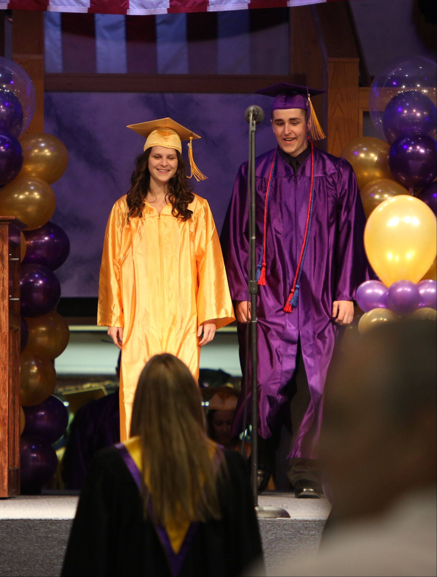 Images from the Wauconda High School graduation on Sunday, May 19 in Lake Zurich.