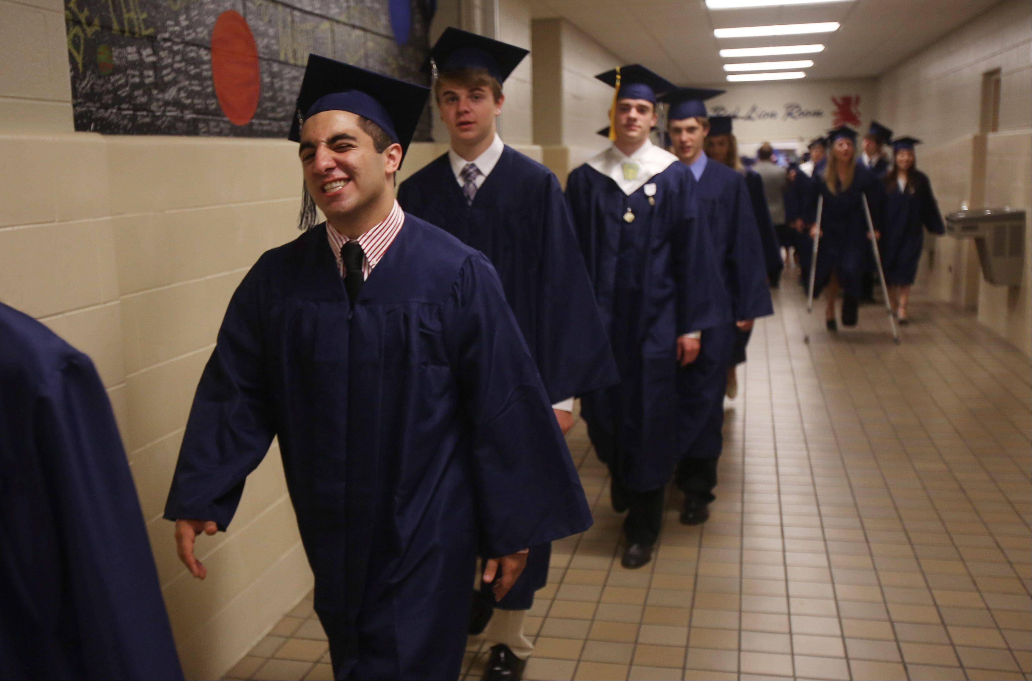 Images from the St. Viator High School graduation on Sunday, May 19 in Arlington Heights.