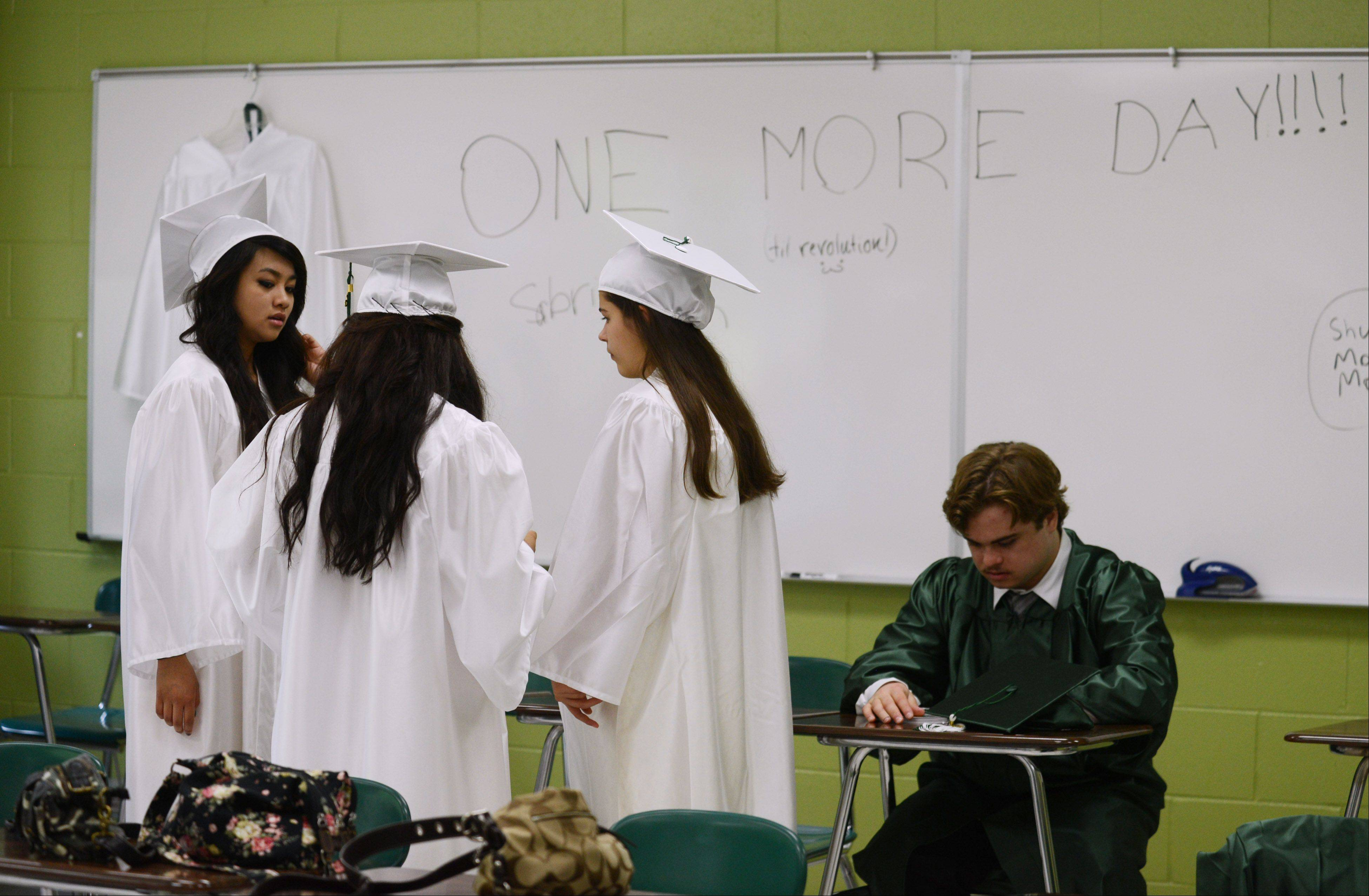 Images from the Grayslake Central High School graduation on Sunday, May 19 in Grayslake.