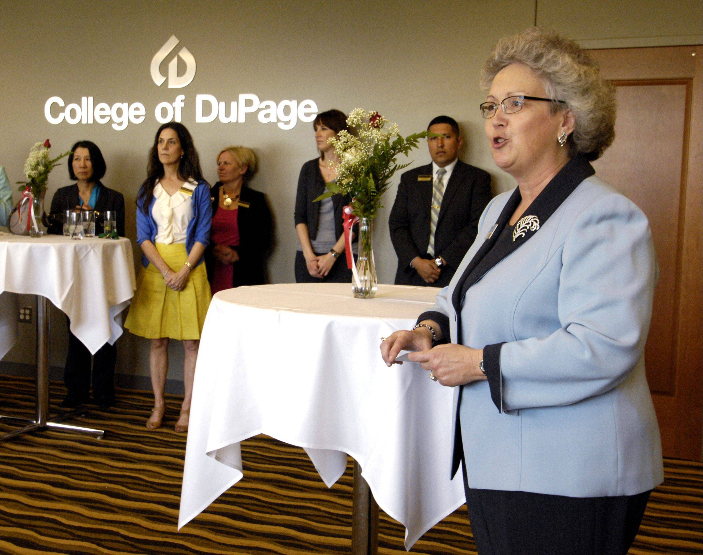 Glenda Gallisath of the College of DuPage coordinates the college's 3+1 programs that allow students to earn bachelor's degrees from universities that partner with COD, which is the only community college in the state to offer such a program.
