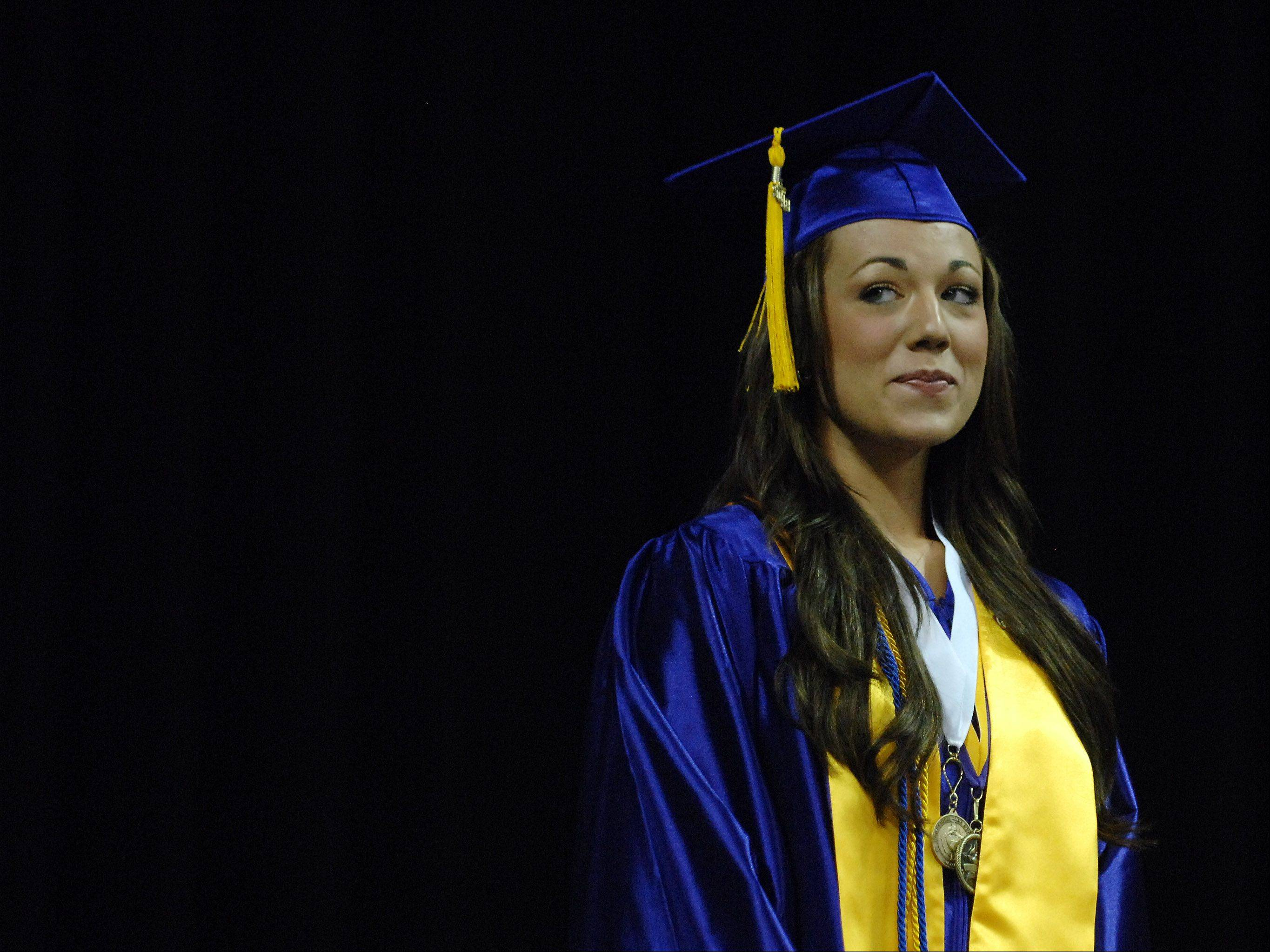 Images from the Hampshire High School graduation ceremony Saturday, May 18, 2013 at the Sears Centre in Hoffman Estates.