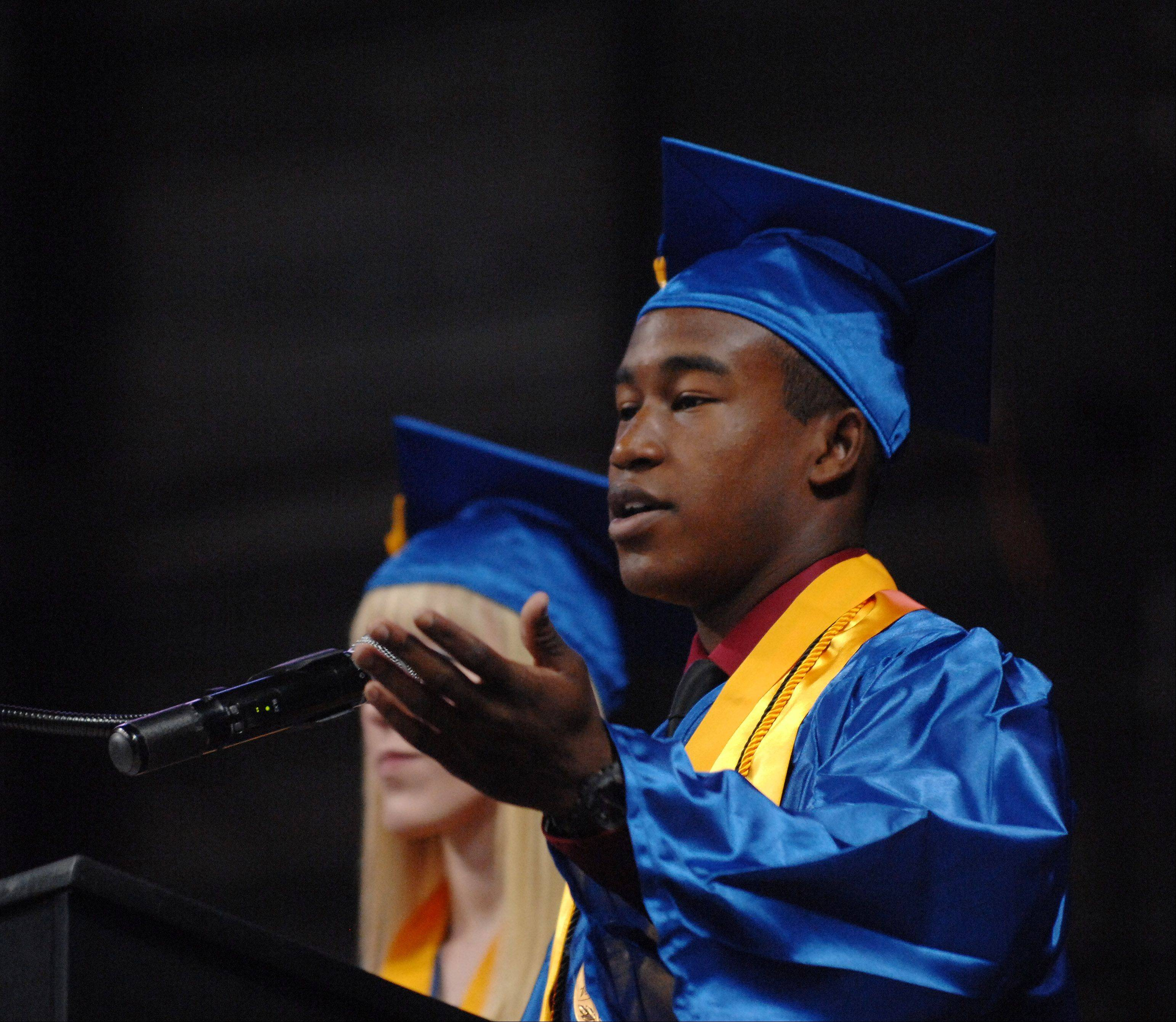 Images from the Dundee-Crown High School graduation ceremony Saturday, May 18, 2013 at the Sears Centre in Hoffman Estates.
