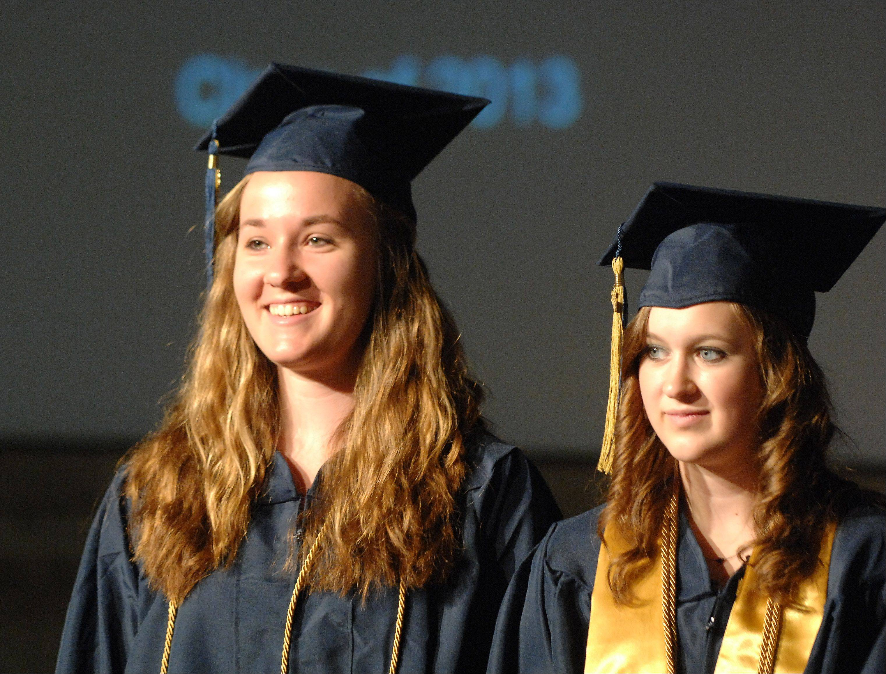 Images from the Harvest Christian Academy graduation ceremony Saturday, May 18, 2013 in Elgin.