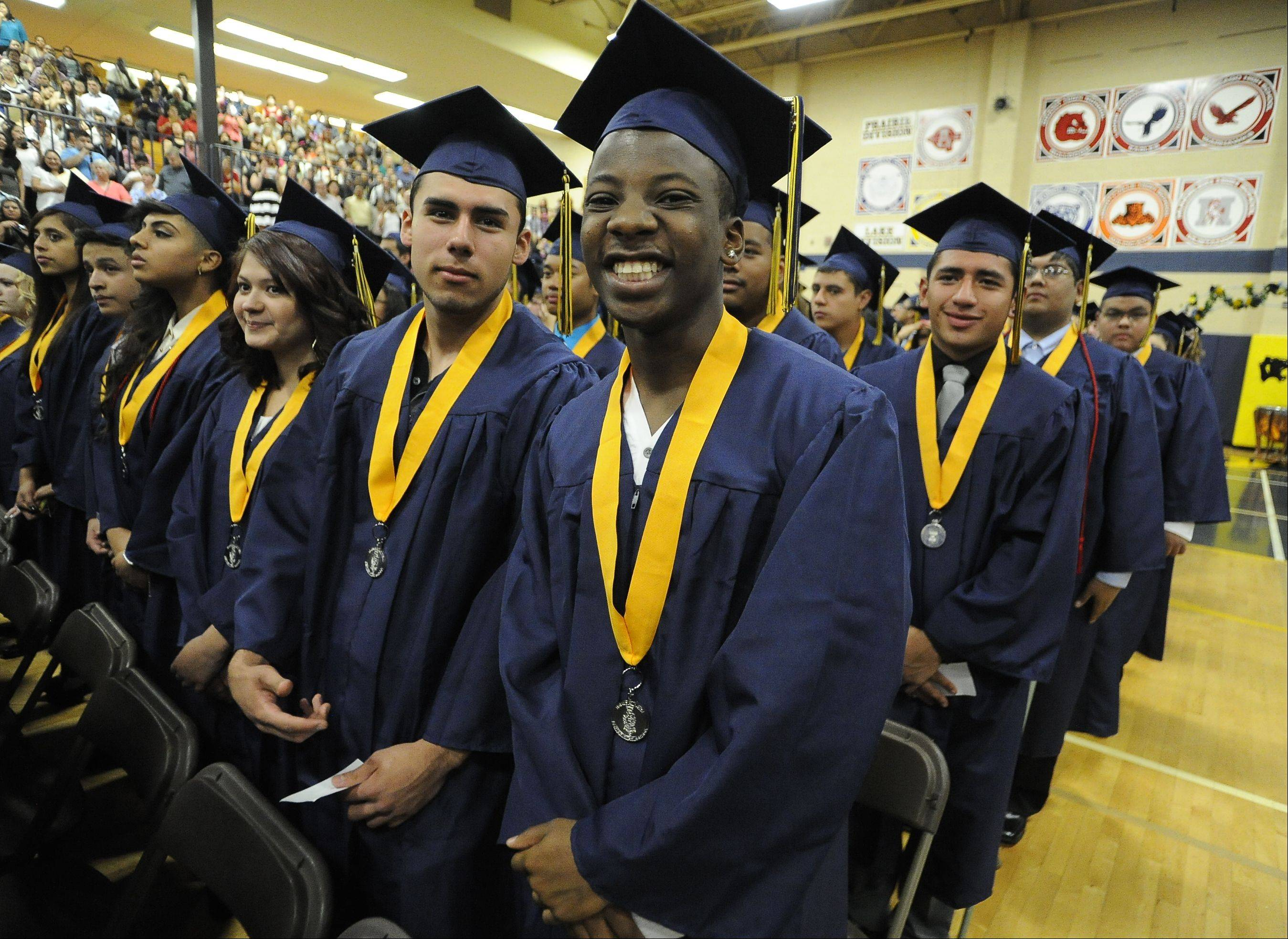 Images from the Round Lake High School graduation on Saturday, May 18 in Round Lake.
