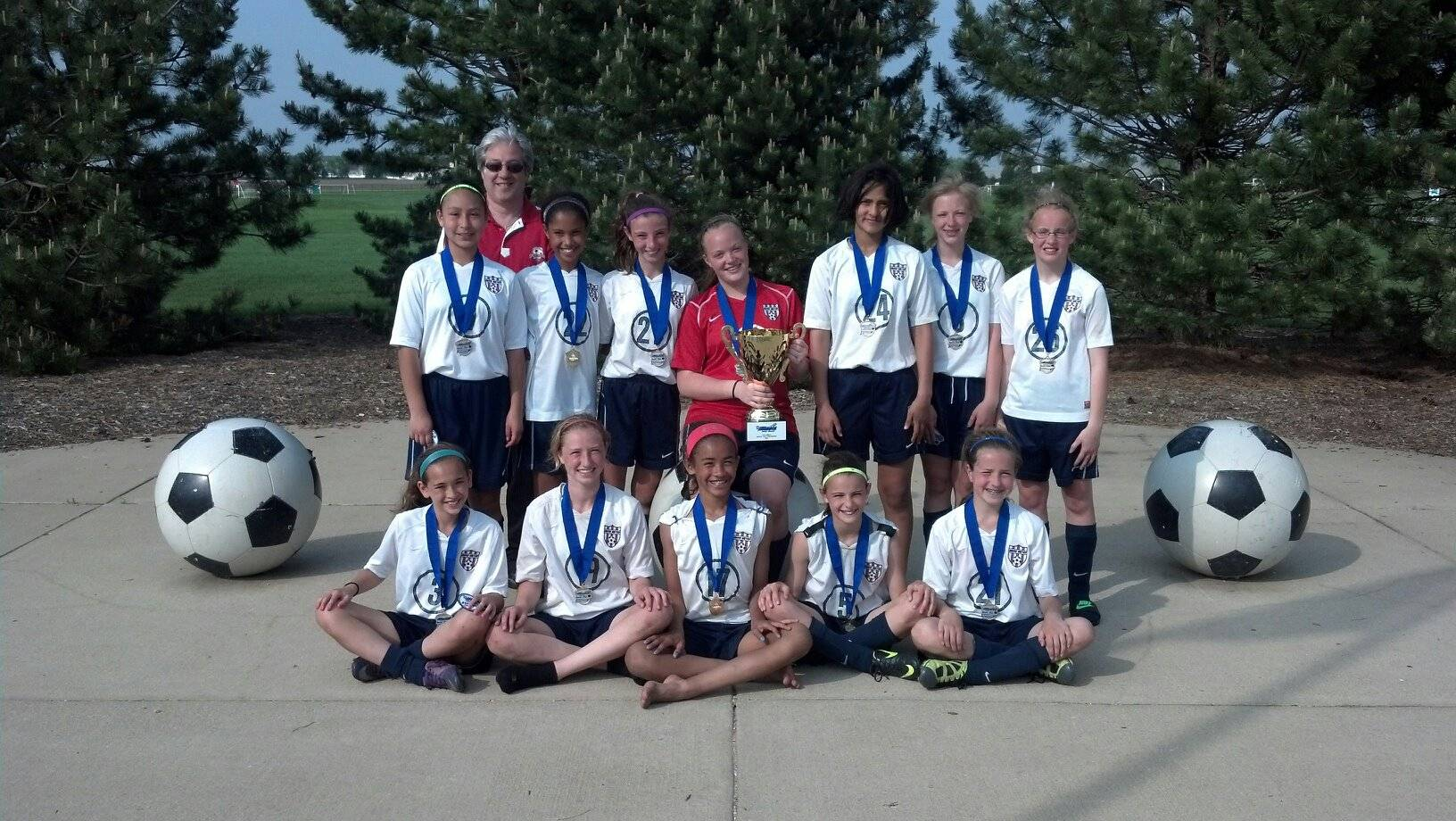 Grove United U12 Elite Use Their Daily Mantras won the 2013 Illinois State Cup Championship