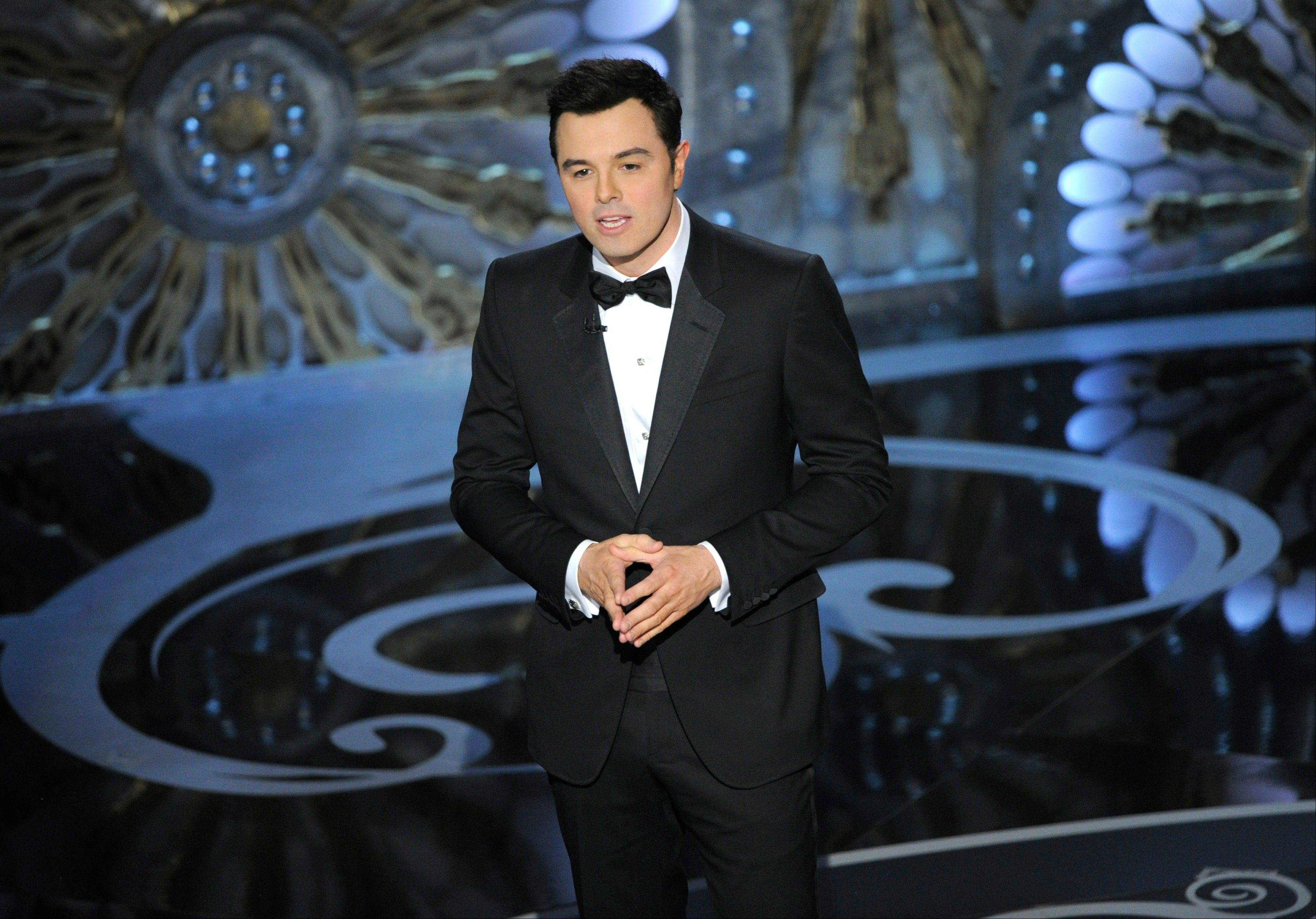 Seth MacFarlane says he is too busy to host the Oscars in 2014.