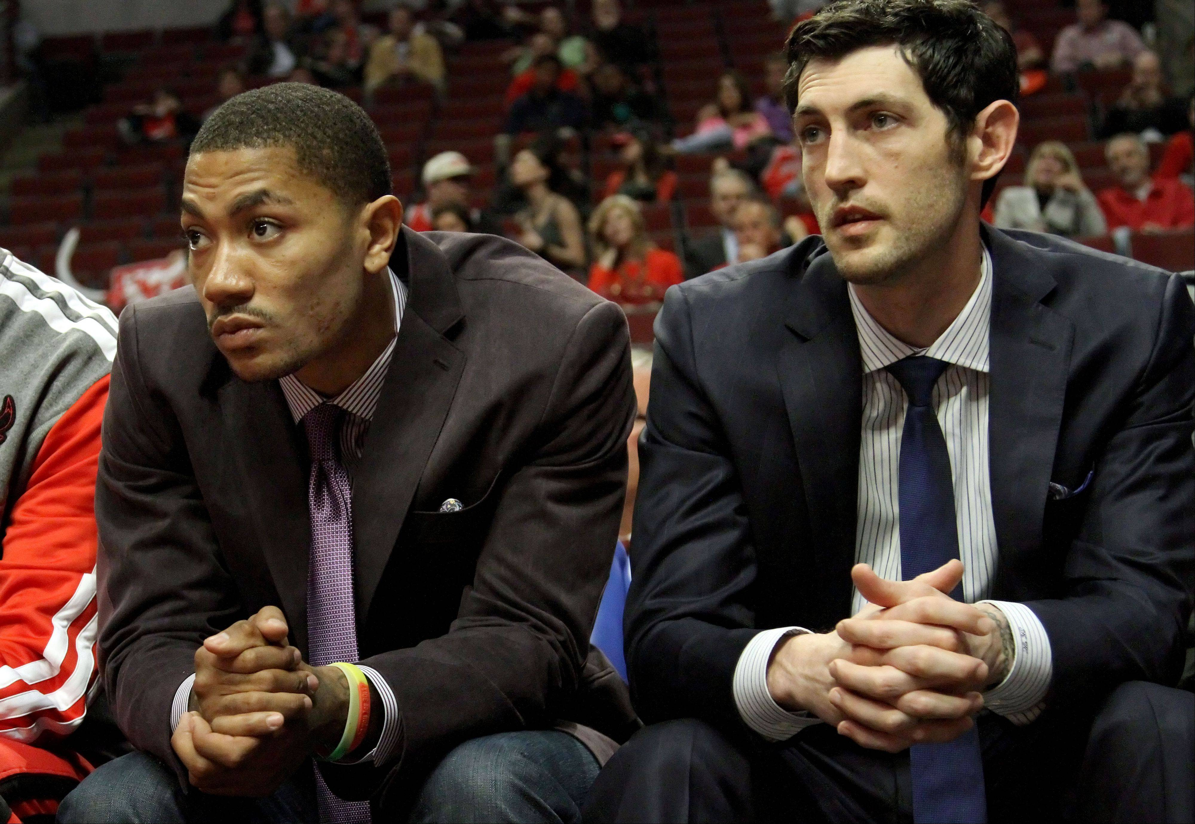 Bulls guard Derrick Rose missed the entire NBA season, and Kirk Hinrich sat out 30 games with various injuries. While Bulls officials once thought Hinrich could play point to give Rose some time at shooting guard, it's more likely Hinrich will backup Rose next season.