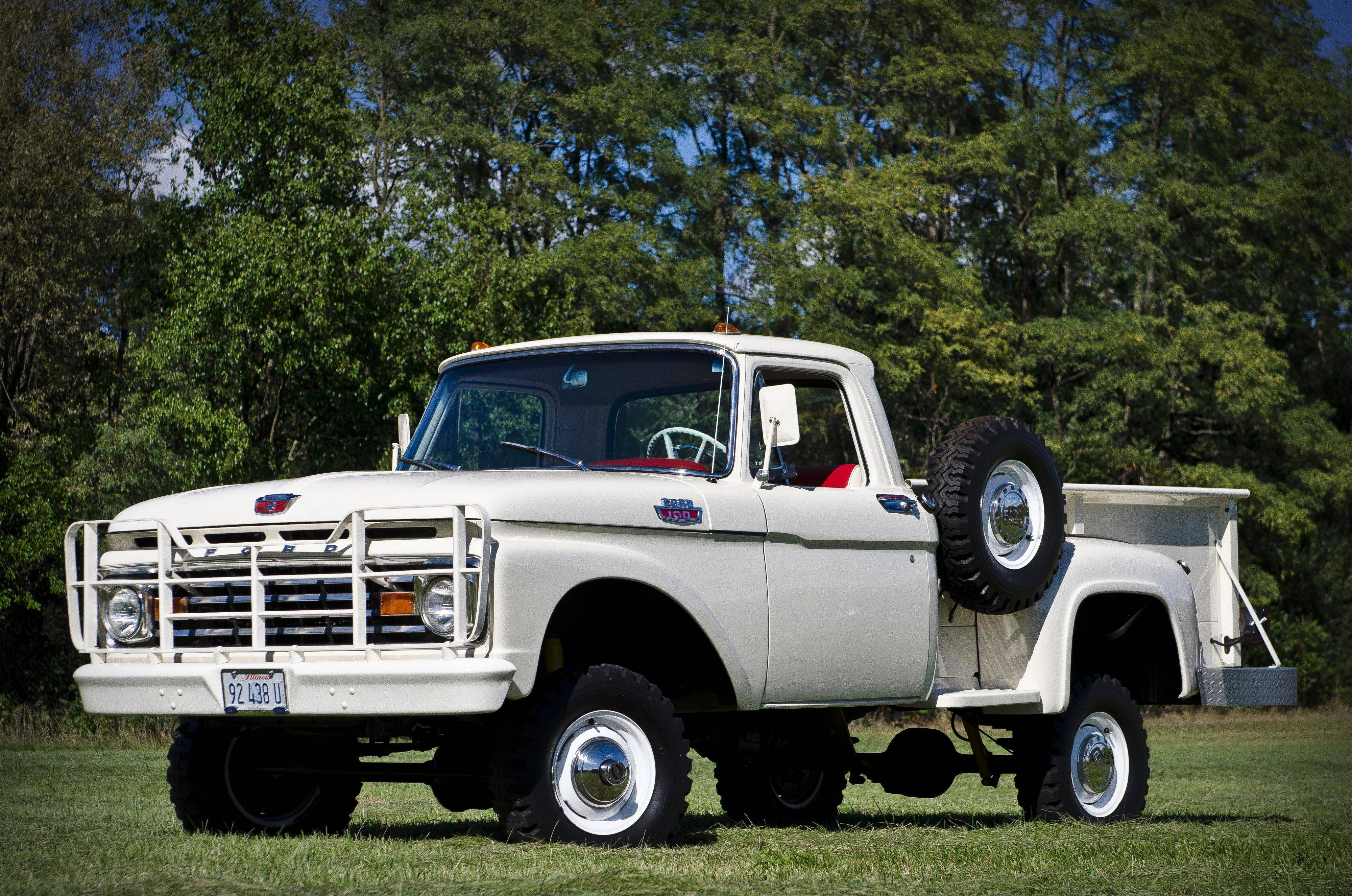 1963 Ford F100 4X4 Larry & Michelle Hunkele, Aurora