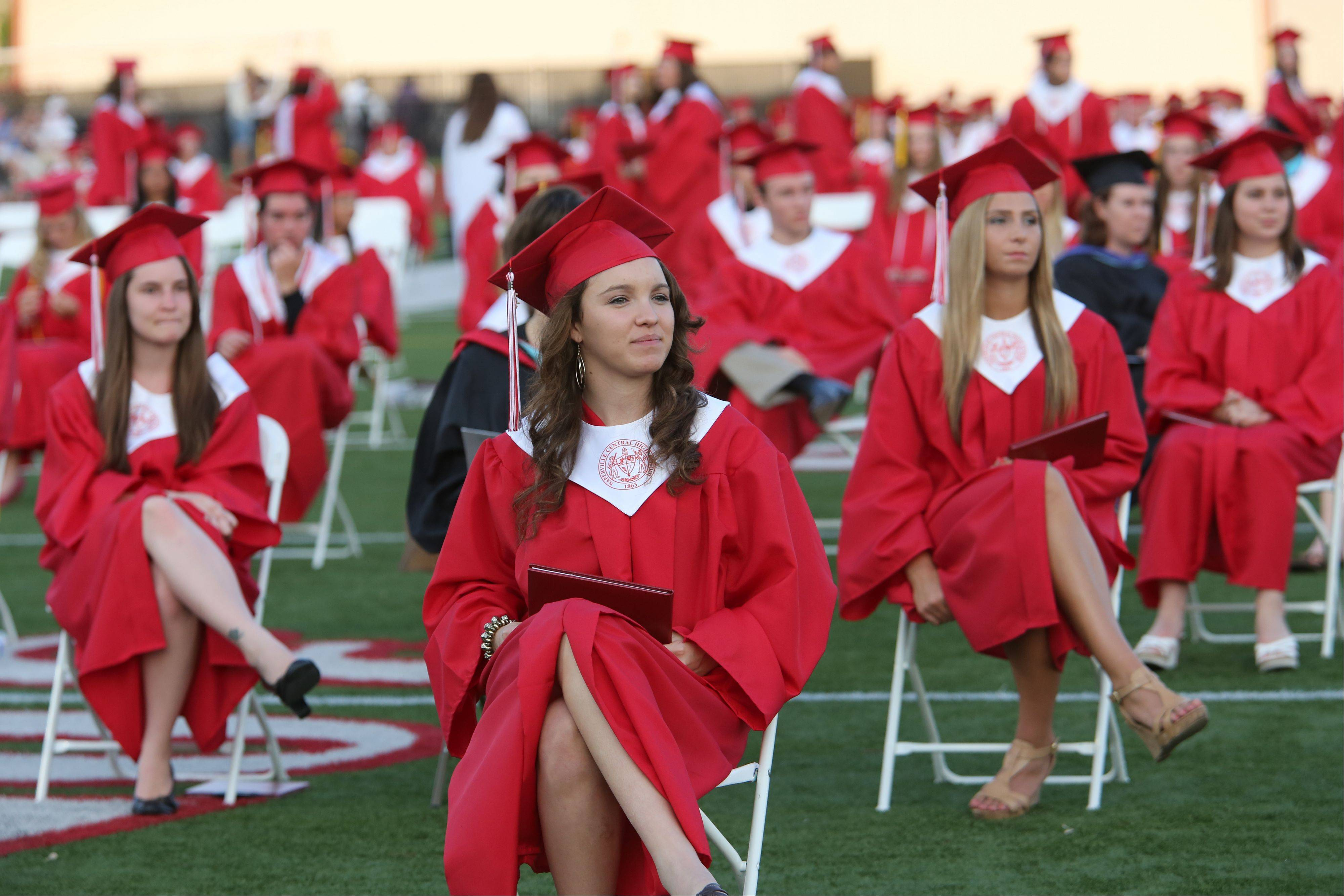 Images from the Naperville Central High School graduation on Monday, May 20 in Naperville.