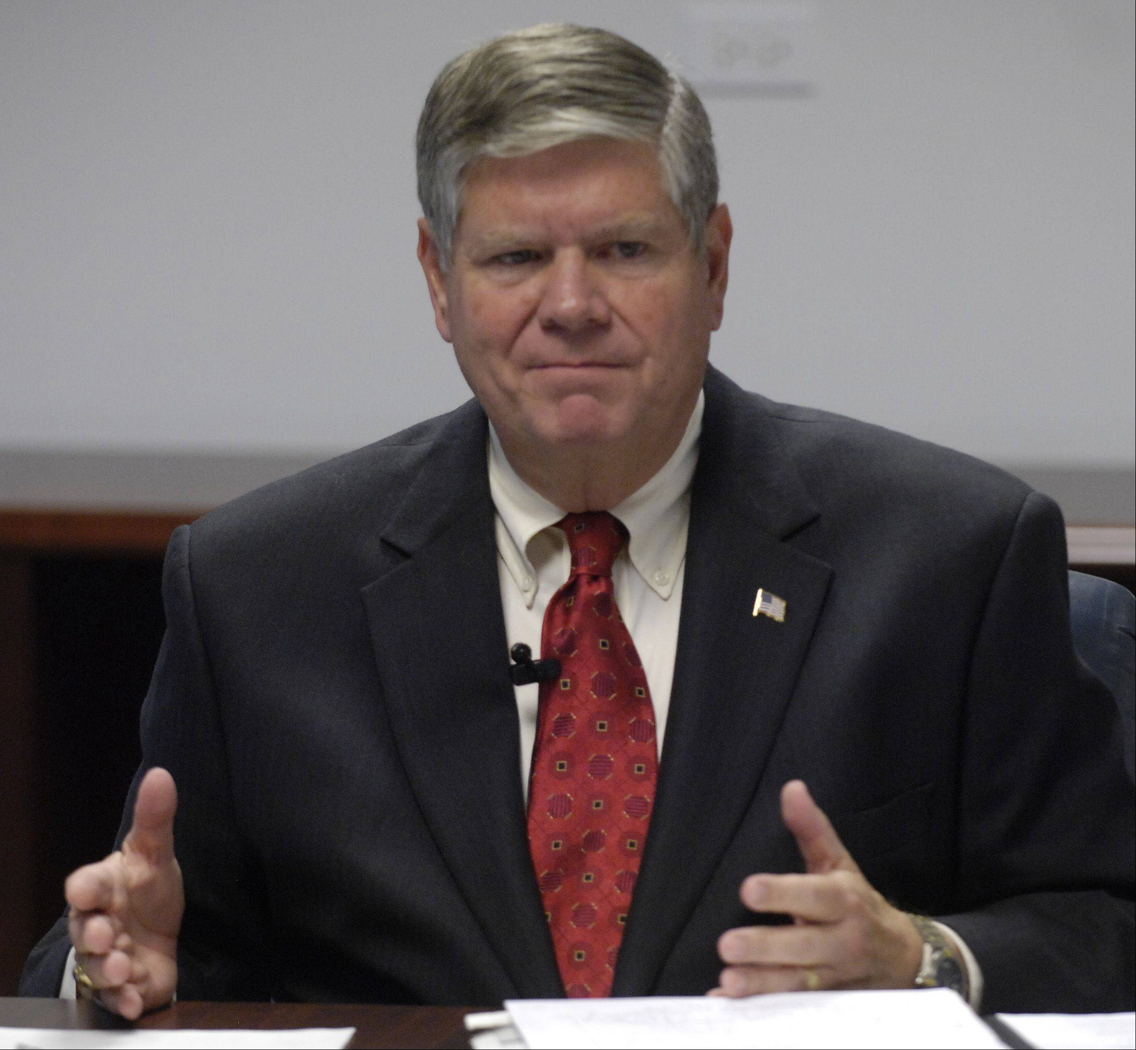 State Sen. Jim Oberweis, a Sugar Grove Republican, voted for medical marijuana.