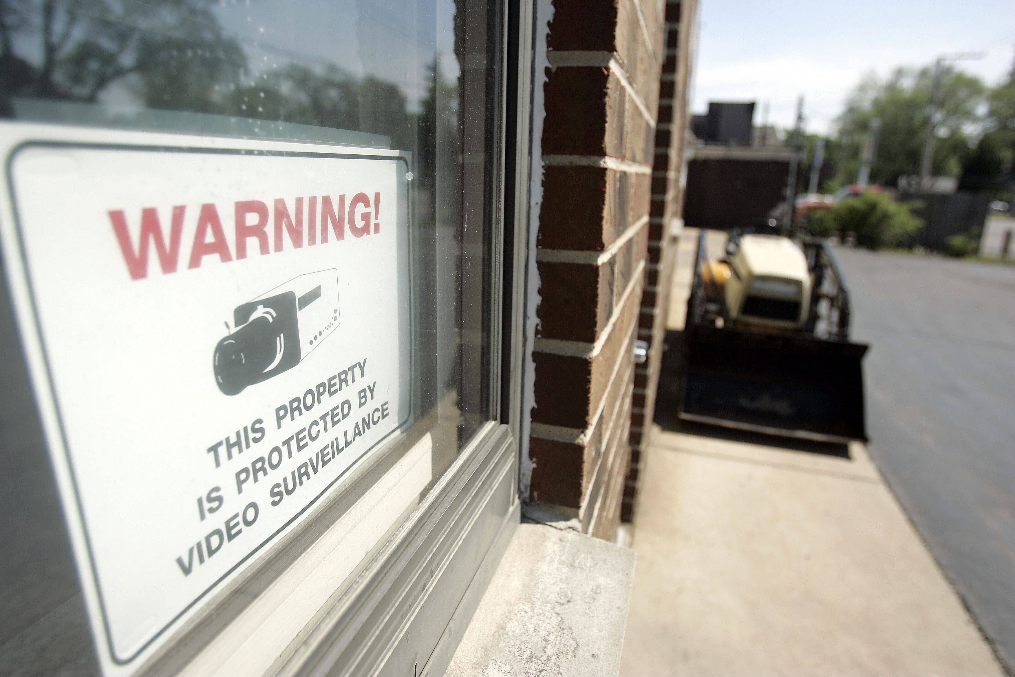 "Reinhold Seidler, co-owner of Able-Fox Automotive, has a surveillance system in place, but still plans to attend the Elgin Police Department's first ""Security through Surveillance"" class on June 22."
