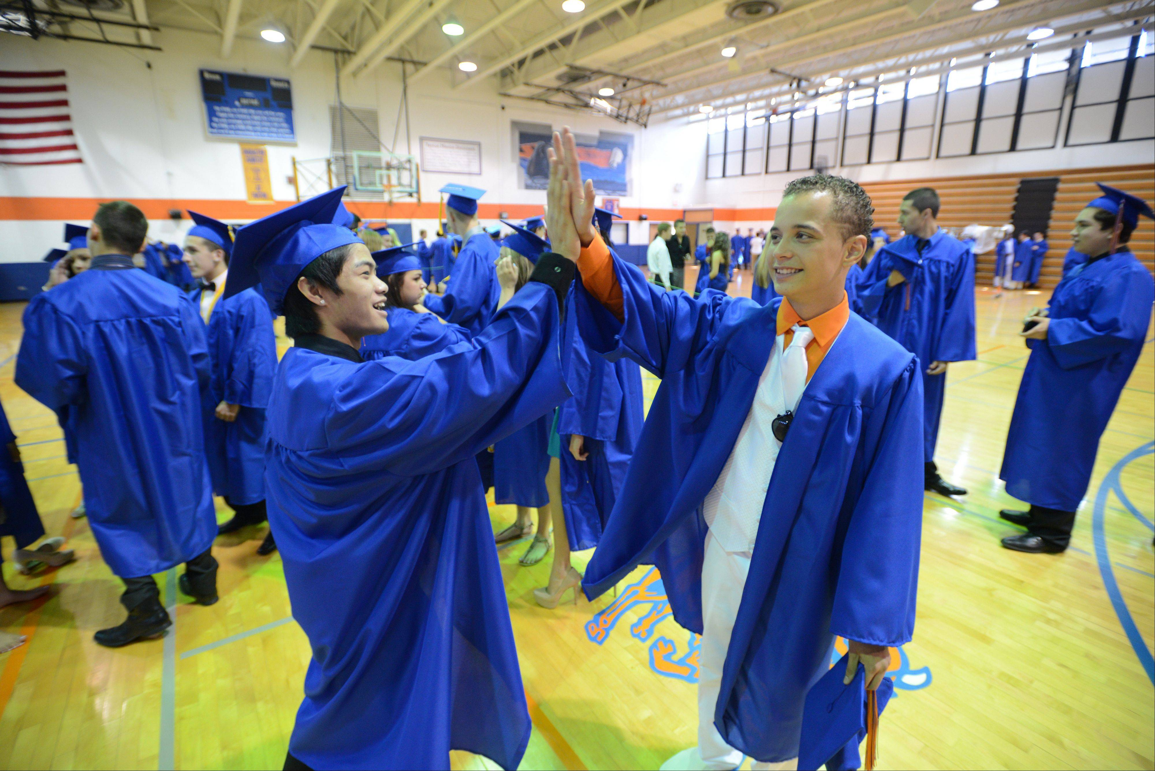 Images from the Fenton High School graduation on Sunday, May 19 in Bensenville.