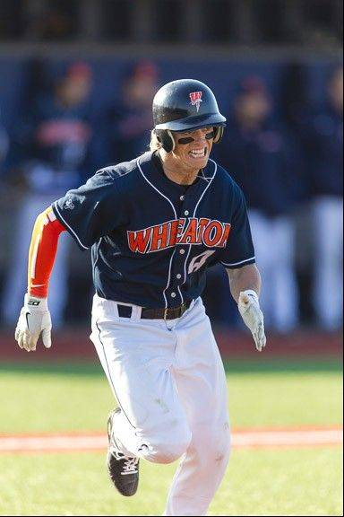 Wheaton College junior Justin Swider was named all-CCIW and all-region in both football and baseball this year.
