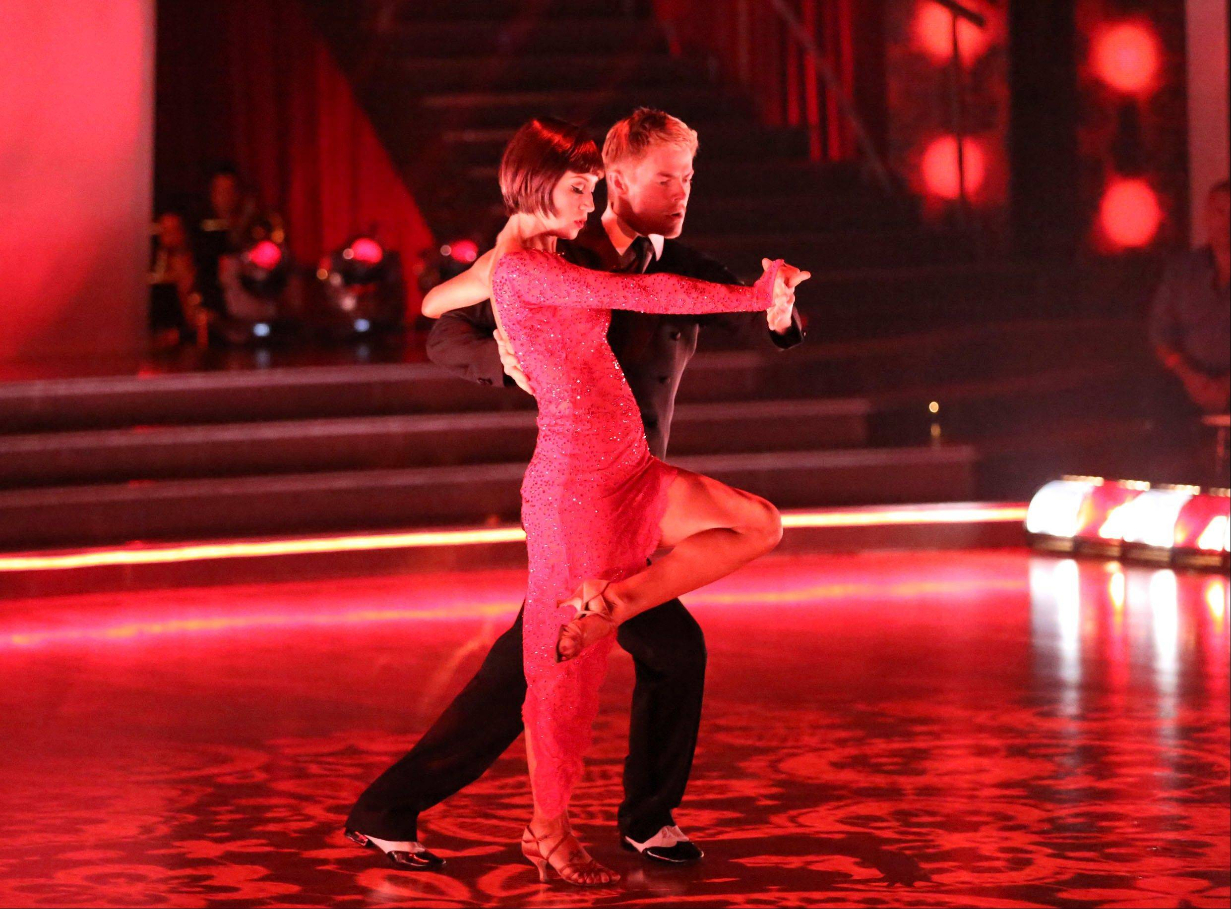 "Kellie Pickler and her partner Derek Hough won ABC's celebrity dance competition ""Dancing With the Stars."""