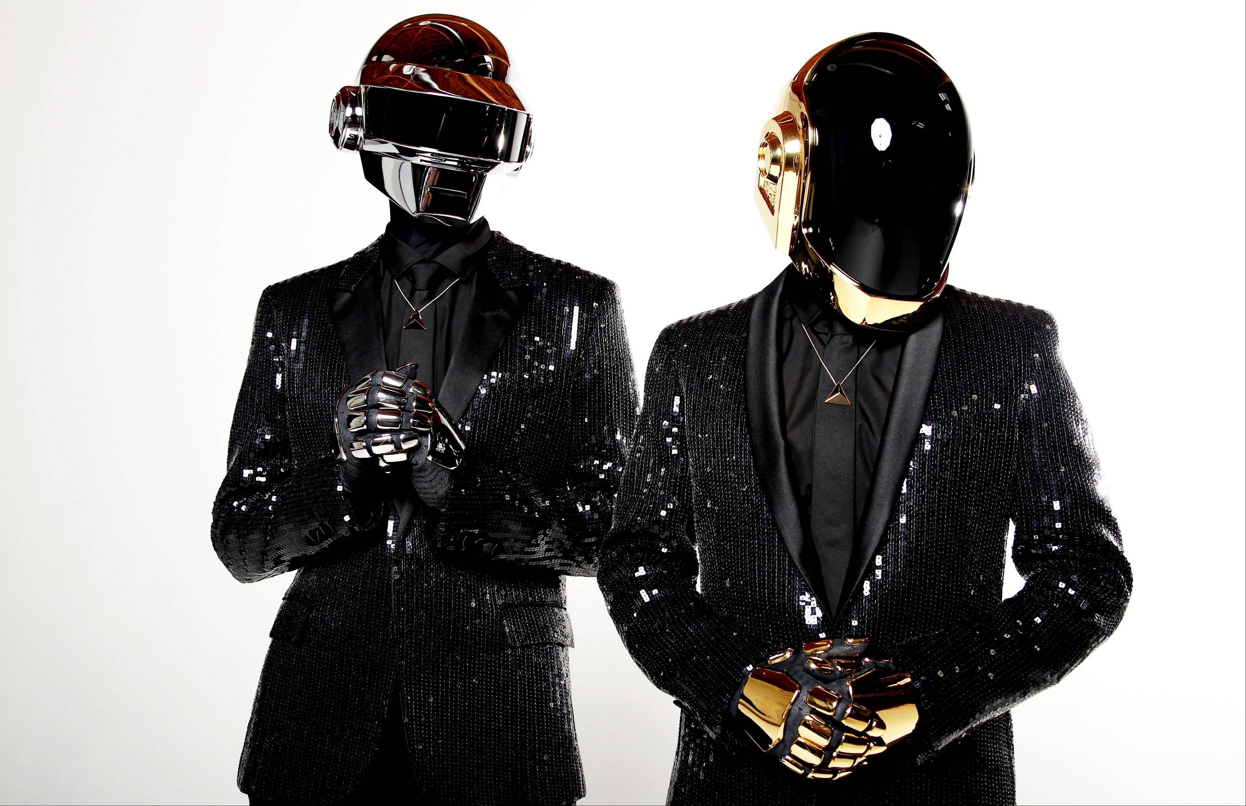 "The electronic duo Daft Punk -- Thomas Bangalter, left, and Guy-Manuel de Homem-Christo -- released their new studio album, ""Random Access Memories,"" on Tuesday."
