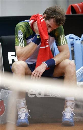 Andy Murray has withdrawn from the French Open after seeking medical advice on his back injury. The second-ranked Briton was forced to pull out of the Italian Open during his second-round match against Marcel Granollers of Spain last Wednesday because of a lower back complaint.