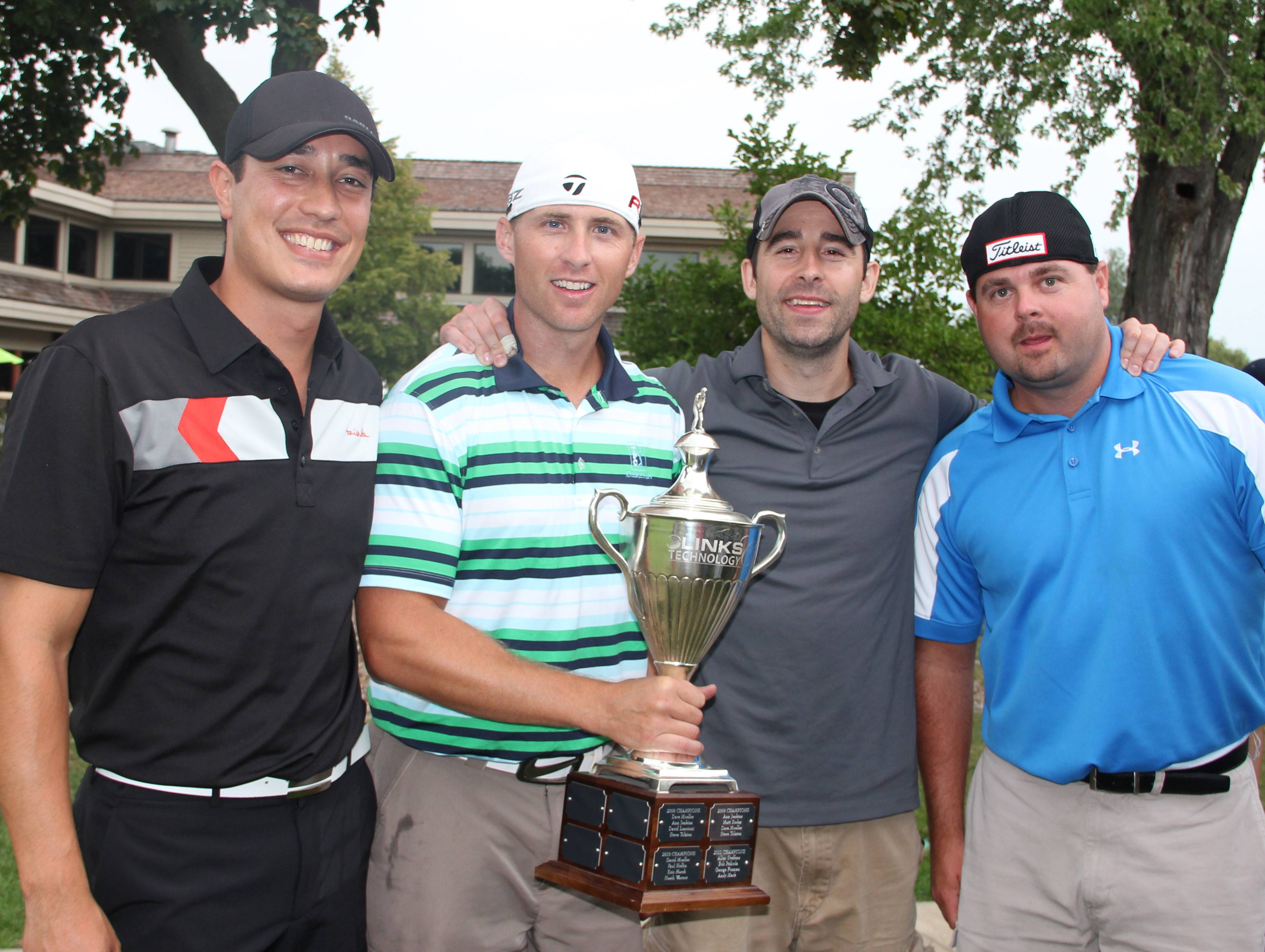 Ryan Brawner, Chris Kappes, Nick Bish and Jason Milam won last year's Links Technology Cup.