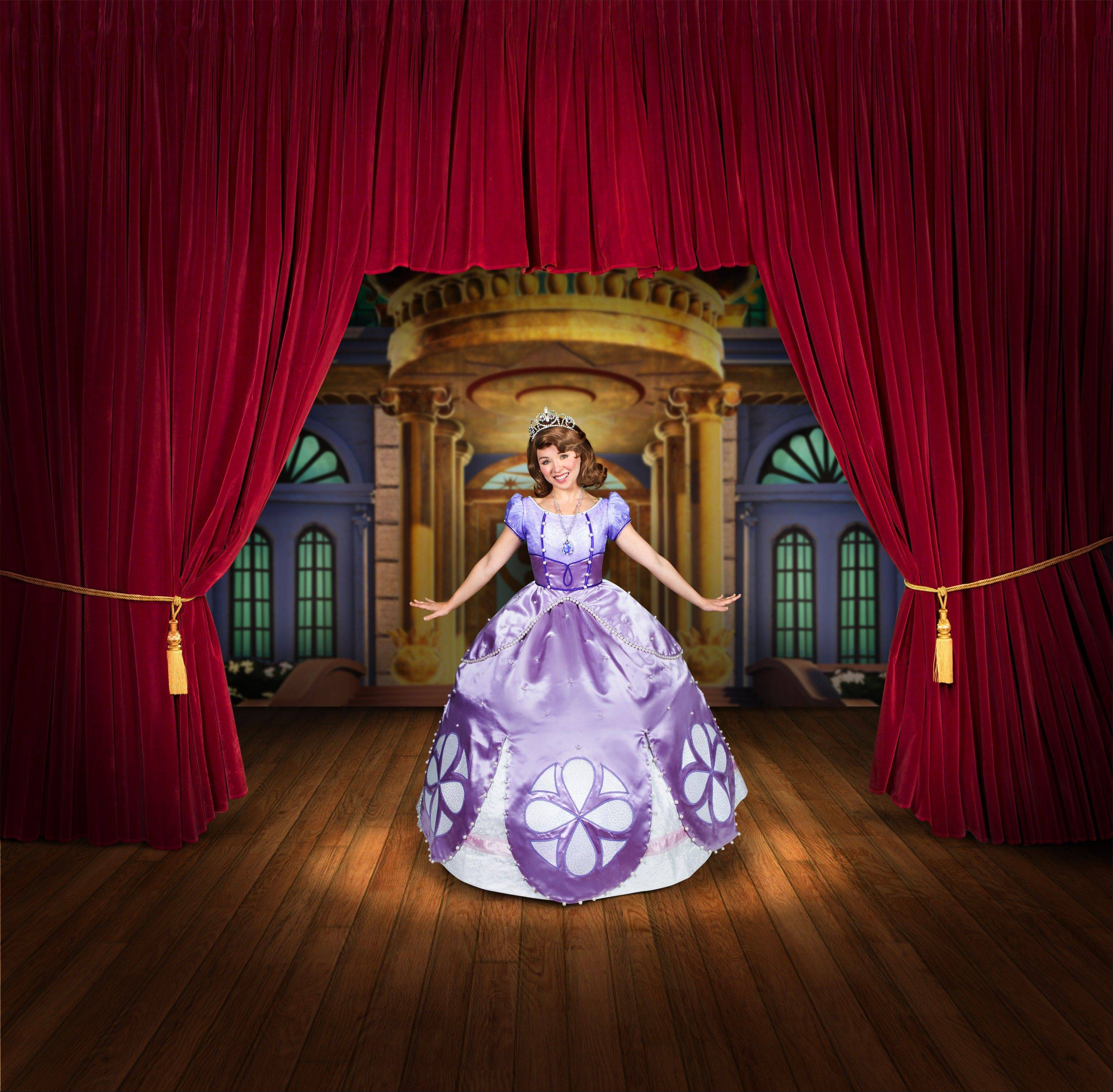 Sofia, the popular Disney princess character from the hit Disney Channel show �Sofia the First,� is part of the �Disney Junior Live on Tour! Pirate and Princess Adventure� show, coming to the Rosemont Theatre.