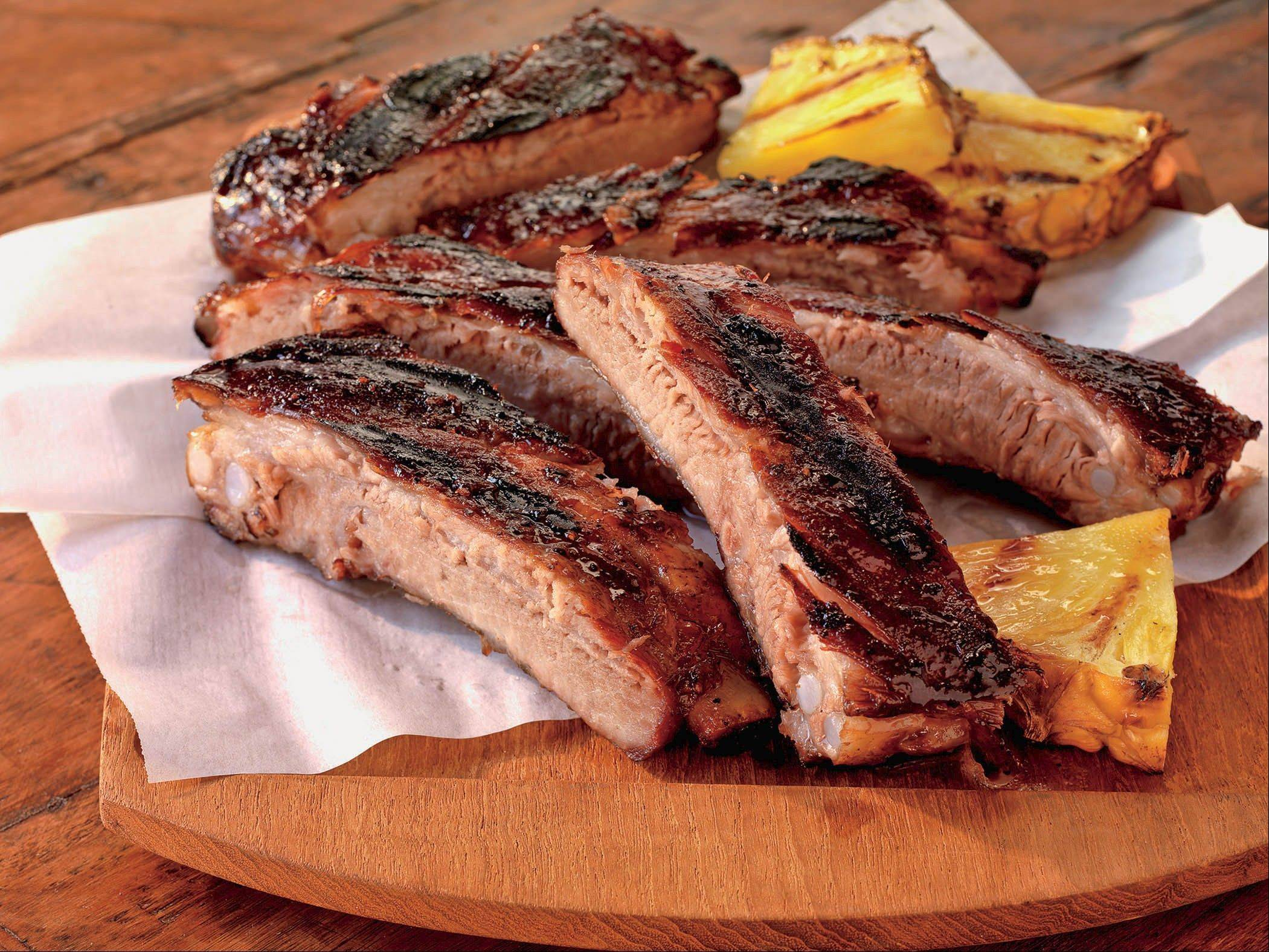 Ginger-Rubbed Country Spareribs with Apricot Glaze is just one way to enjoy ribs this Memorial Day weekend. Get this and other recipes on Pages 5 and 6.