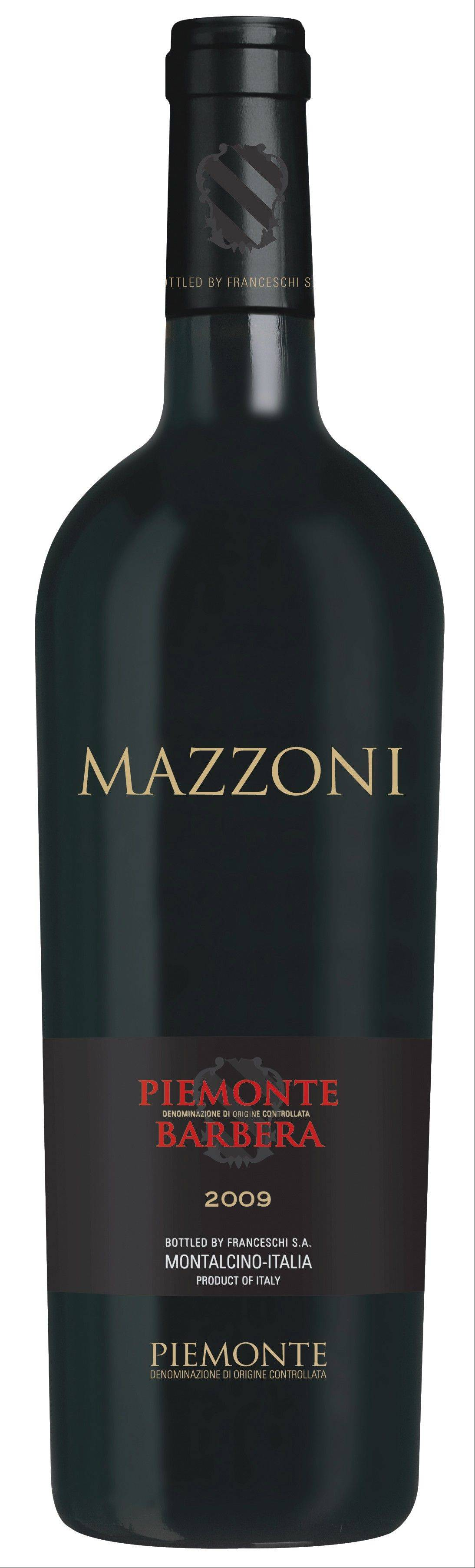Enjoy Mazzoni Barbera with lightly sauced pasta or grilled burgers and brats.