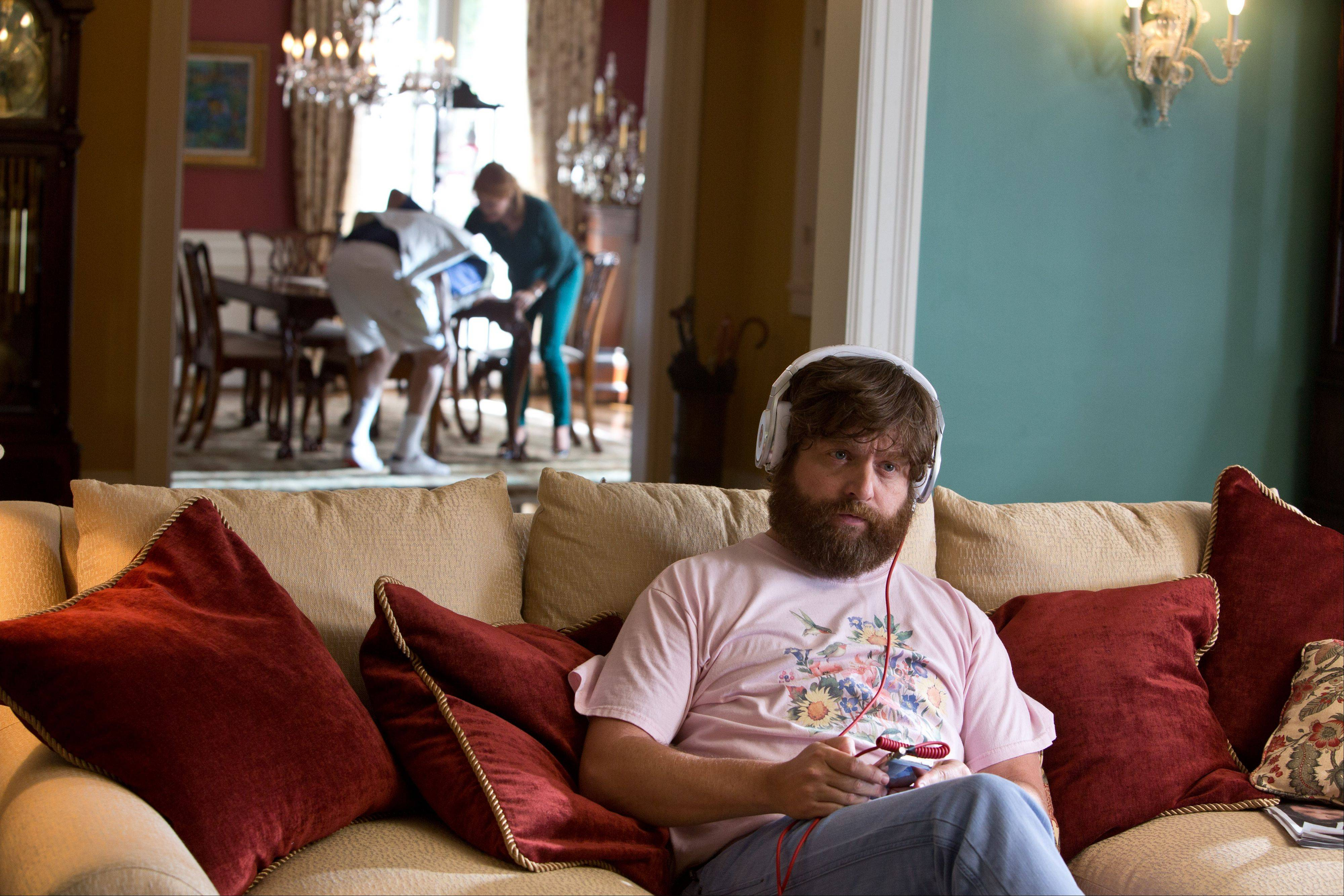 "Alan (Zach Galifianakis) remains as clueless as ever in ""The Hangover Part III."""