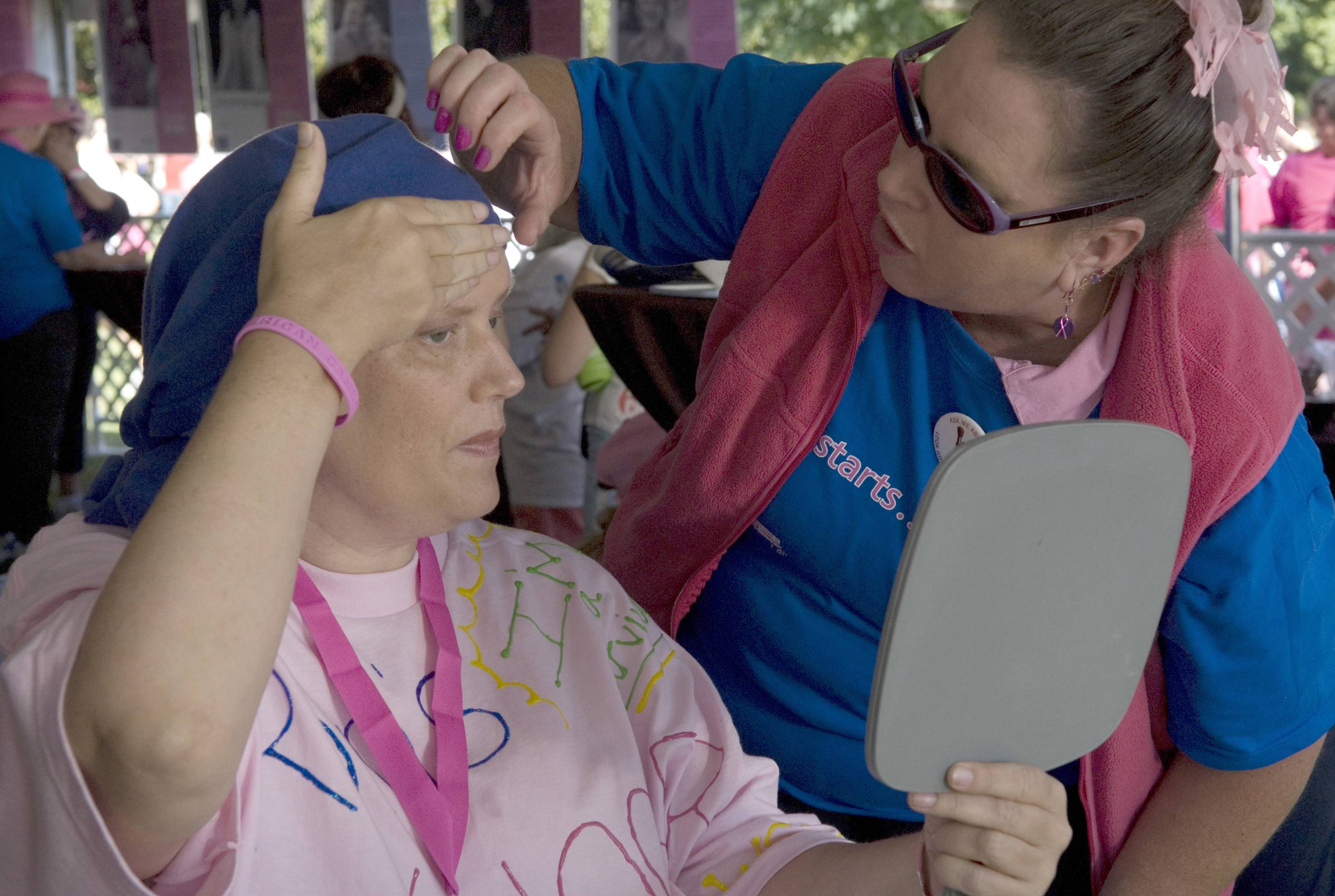 Volunteers with the American Cancer Society make a difference.