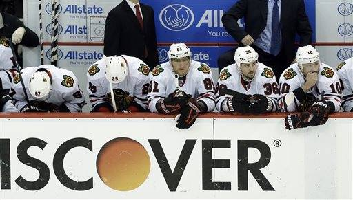 Frustration builds for Blackhawks
