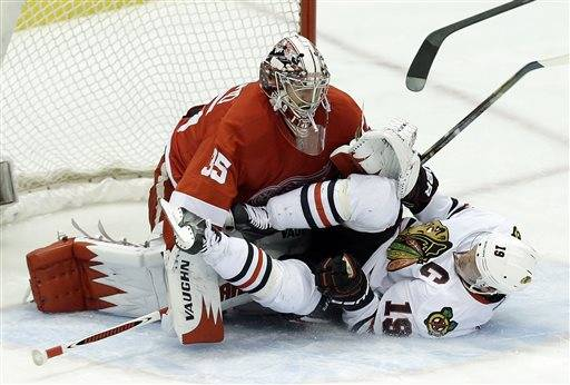 Blackhawks' dream season now a nightmare