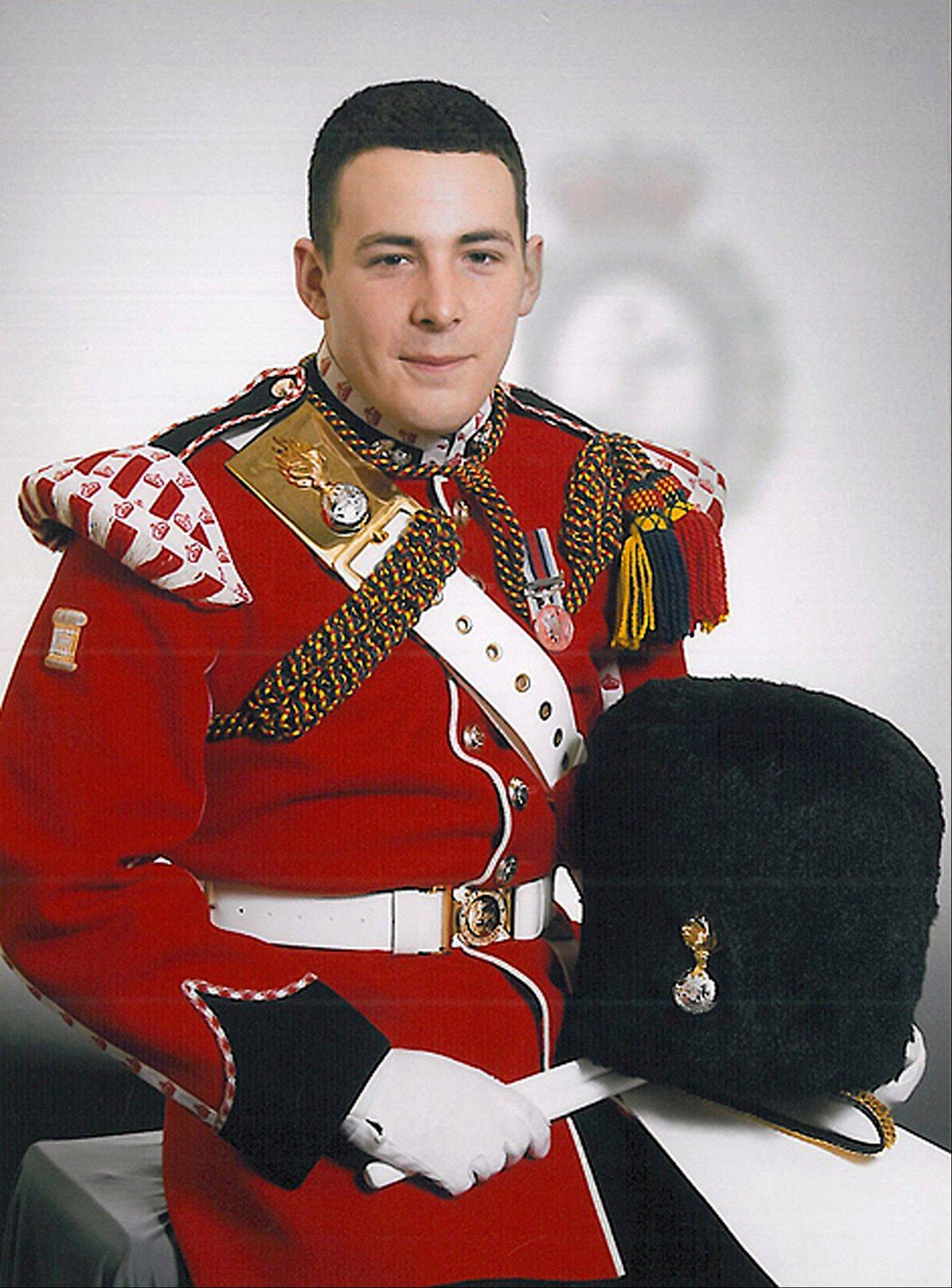 Britain's Ministry of Defense said the soldier killed was Lee Rigby, of 2nd Battalion The Royal Regiment of Fusiliers. Rigby, a 25-year-old with a 2-year-old son joined the army in 2006 and was posted first to Cyprus and later served in Afghanistan and Germany. He took up a recruiting post with the military in London in 2011.