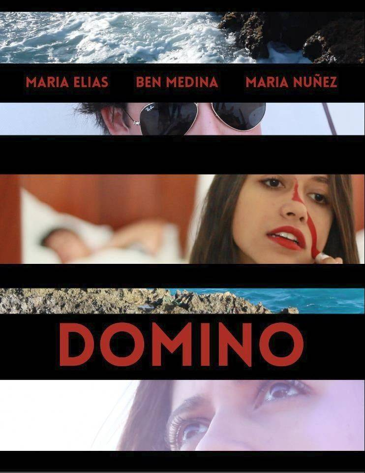 "Ben Medina of Palatine wrote and directed the short film ""Domino,"" which he's still editing. His brother, Richard, created the poster."