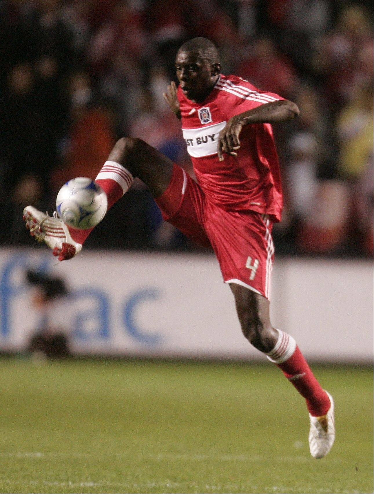 Central defender Bakary Soumare is getting his wish of being traded back to the Chicago Fire.