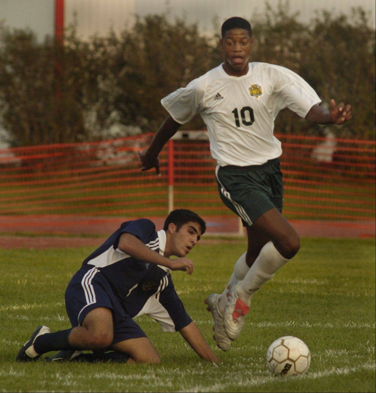 Waubonsie Valley's Chris Schuler played in the Best of the West championship soccer match in Naperville in 2004. Now he's starring for Real Salt Lake's defense in MSL play.