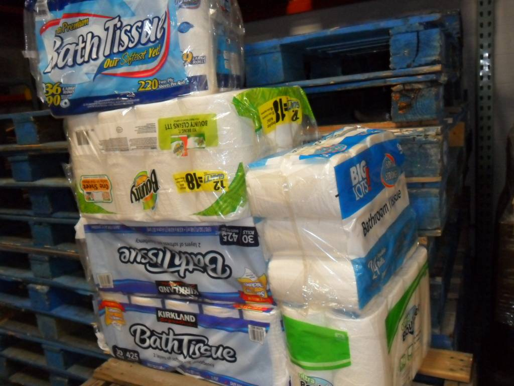 Spring Wood Middle School in Hanover Park recently donated a large amount of paper products to the Humanitarian Service Project (HSP).