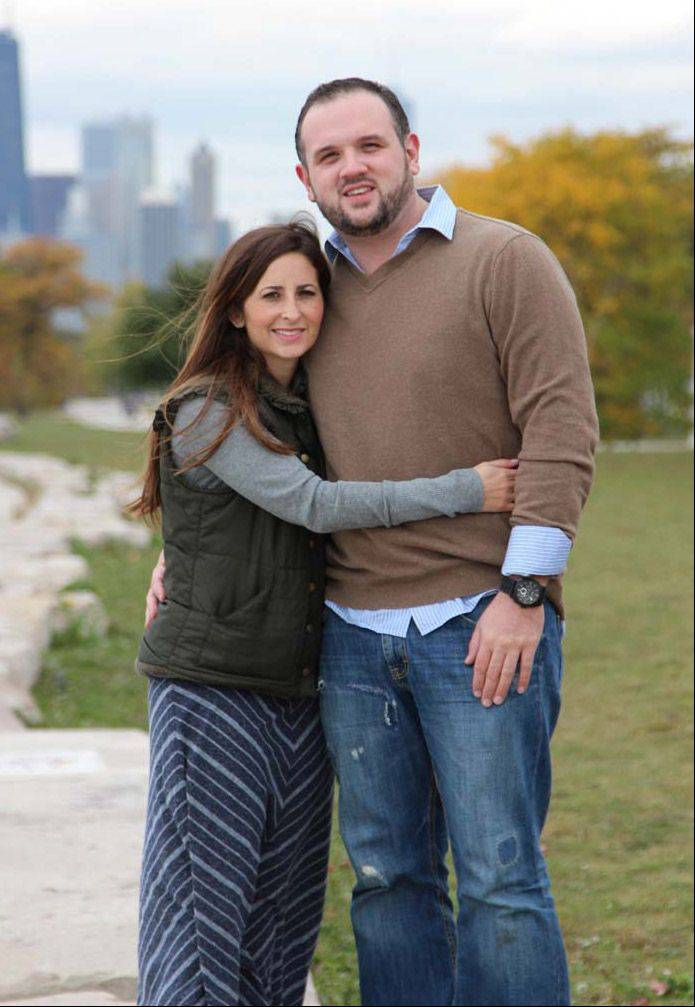 Rikki Himmelfarb and Matt Peota are former Stevenson High School students who are getting married.